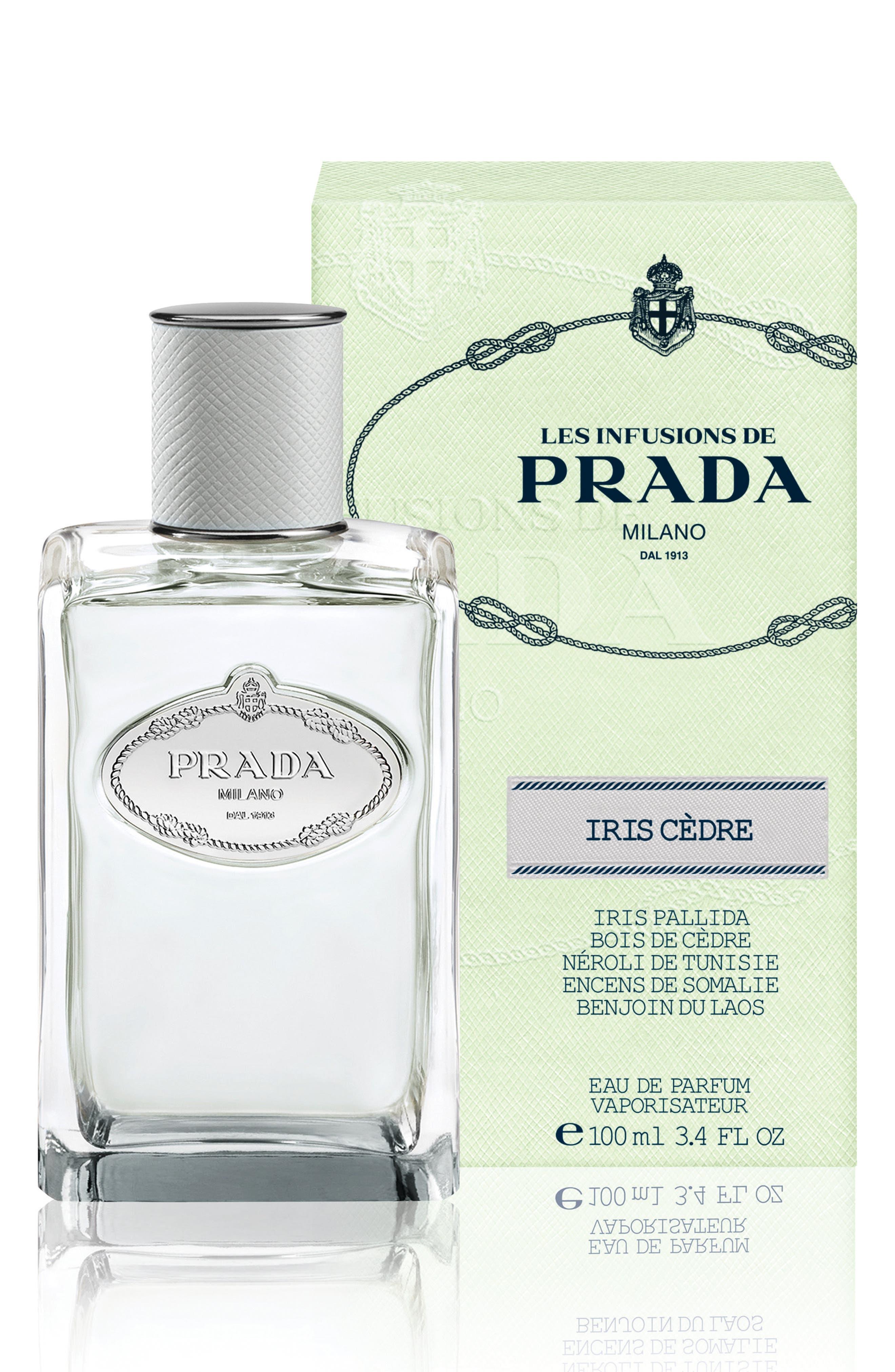 PRADA, Les Infusions Iris Cèdre Eau de Parfum, Alternate thumbnail 2, color, NO COLOR