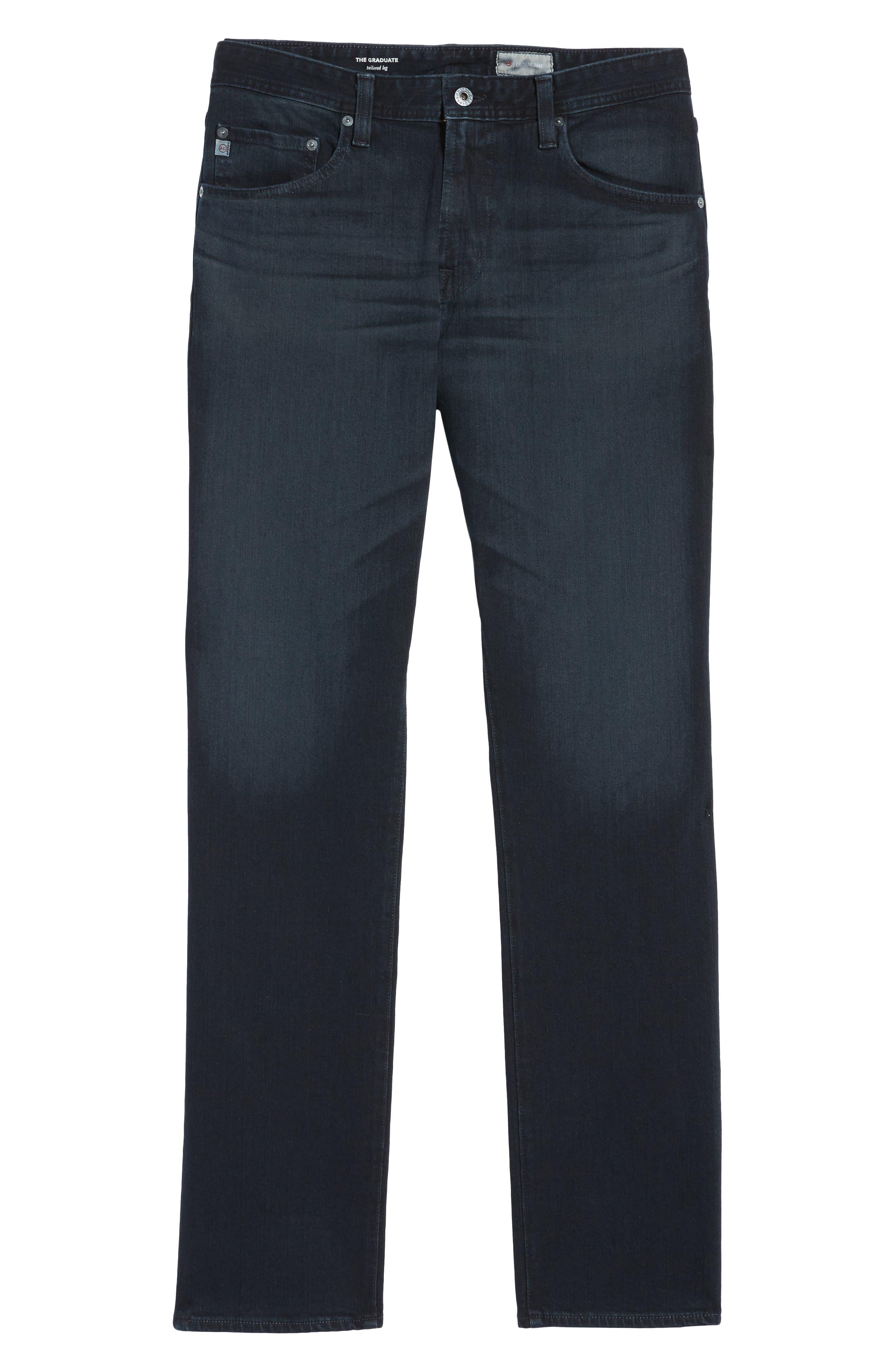 AG, Graduate Slim Straight Leg Jeans, Alternate thumbnail 2, color, BUNDLED