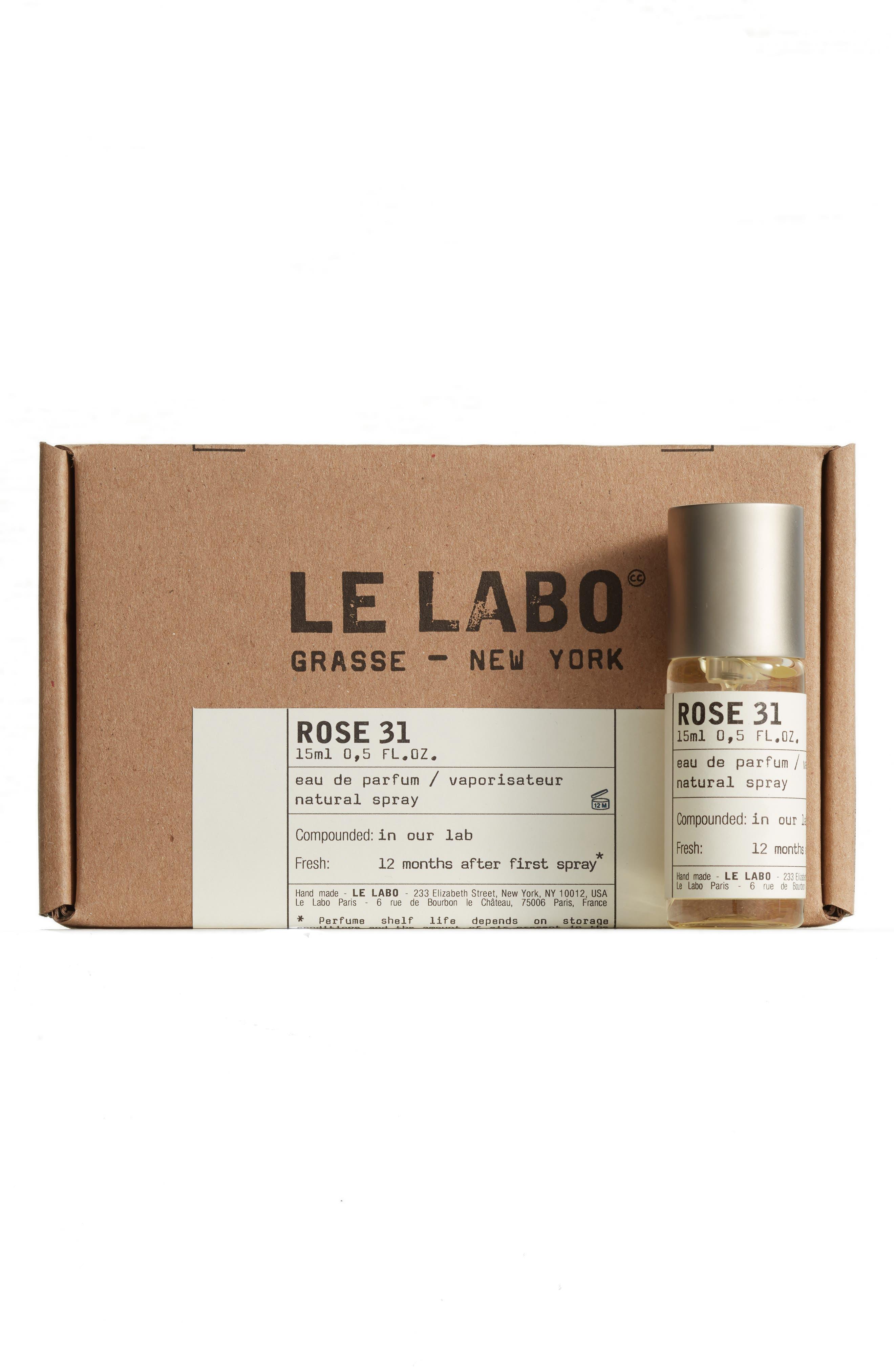 LE LABO, Rose 31 Eau de Parfum, Alternate thumbnail 2, color, NO COLOR