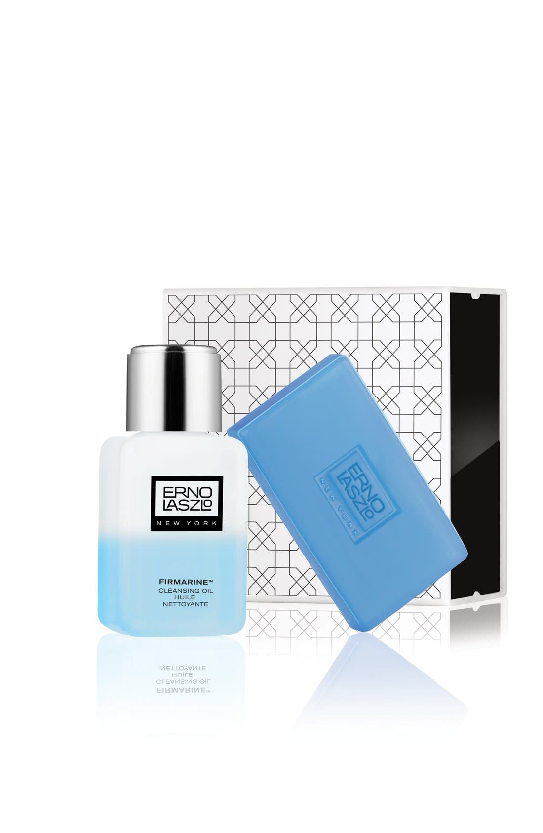 ERNO LASZLO, Firmarine<sup>™</sup> Double Cleanse Travel Set, Main thumbnail 1, color, NO COLOR