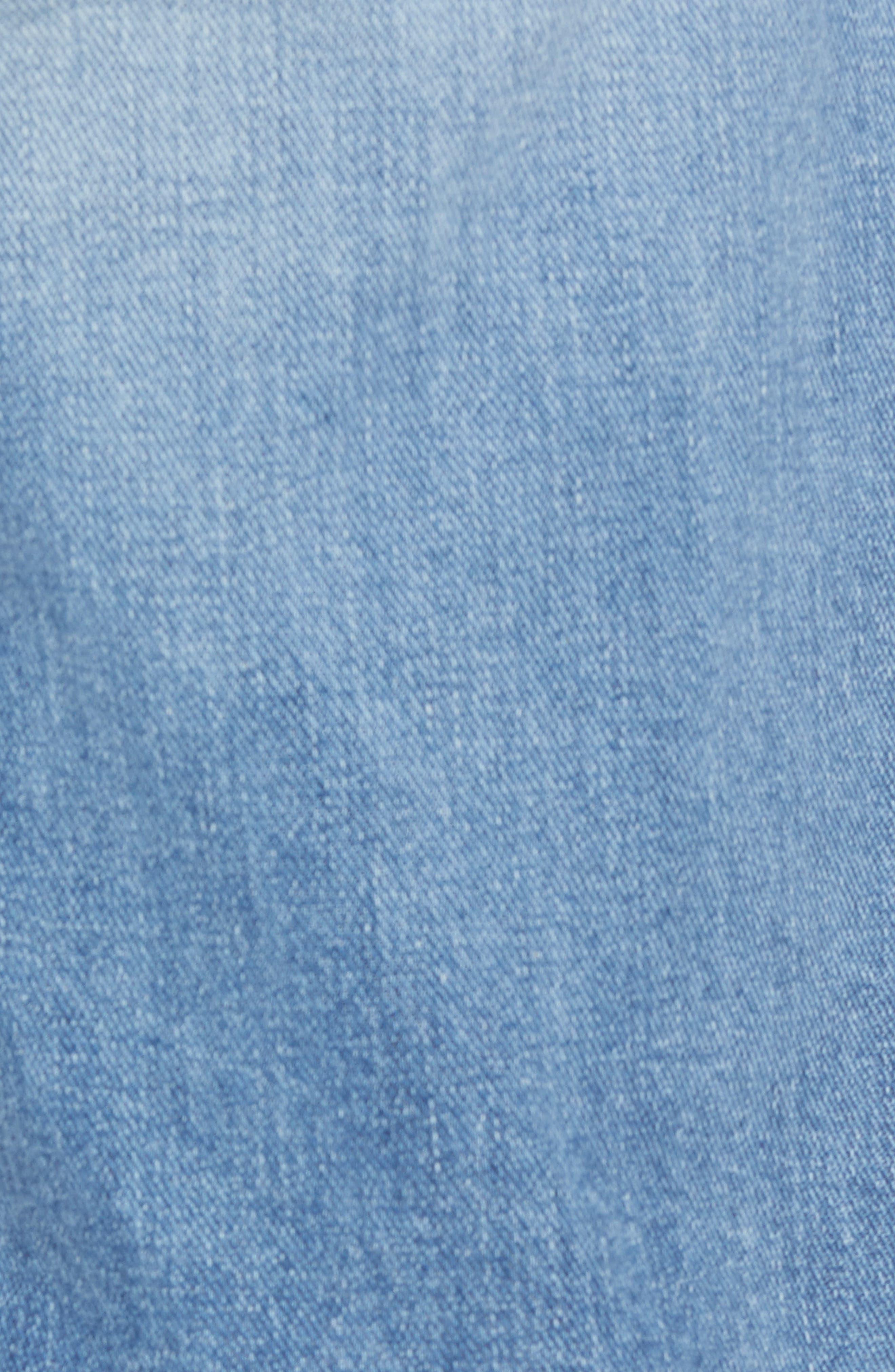 FRAME, L'Homme Slim Fit Jeans, Alternate thumbnail 6, color, BLUE BAY