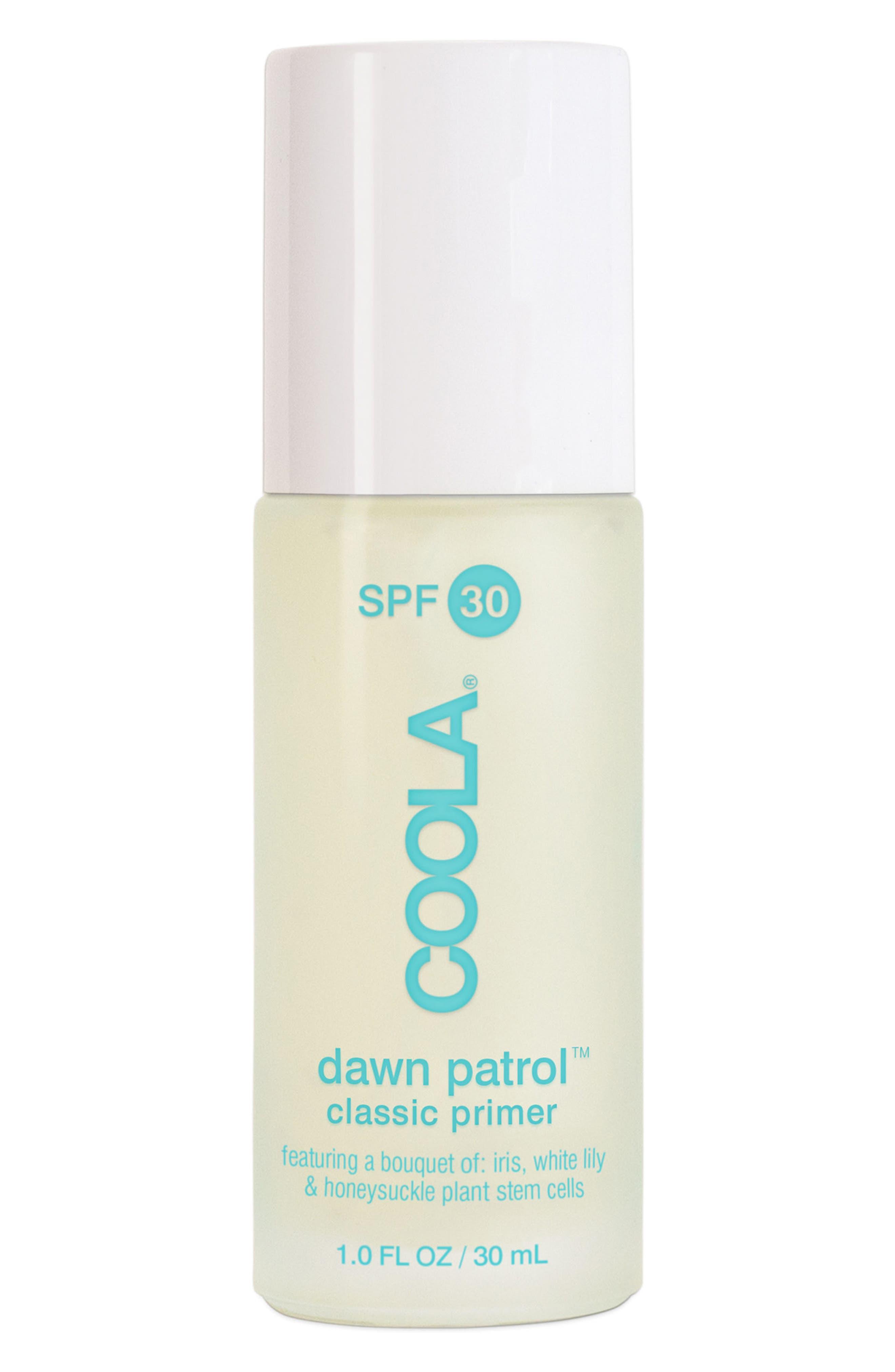 COOLA SUNCARE, COOLA<sup>®</sup> Suncare Dawn Patrol<sup>™</sup> Classic Makeup Primer SPF 30, Main thumbnail 1, color, NO COLOR