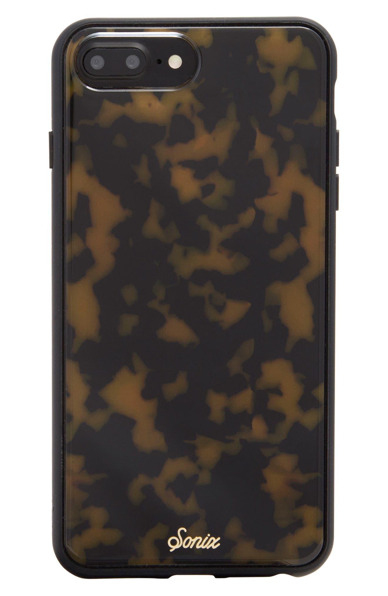 SONIX, Tortoise iPhone 6/6s/7/8 & 6/6s/7/8 Plus Case, Main thumbnail 1, color, 200