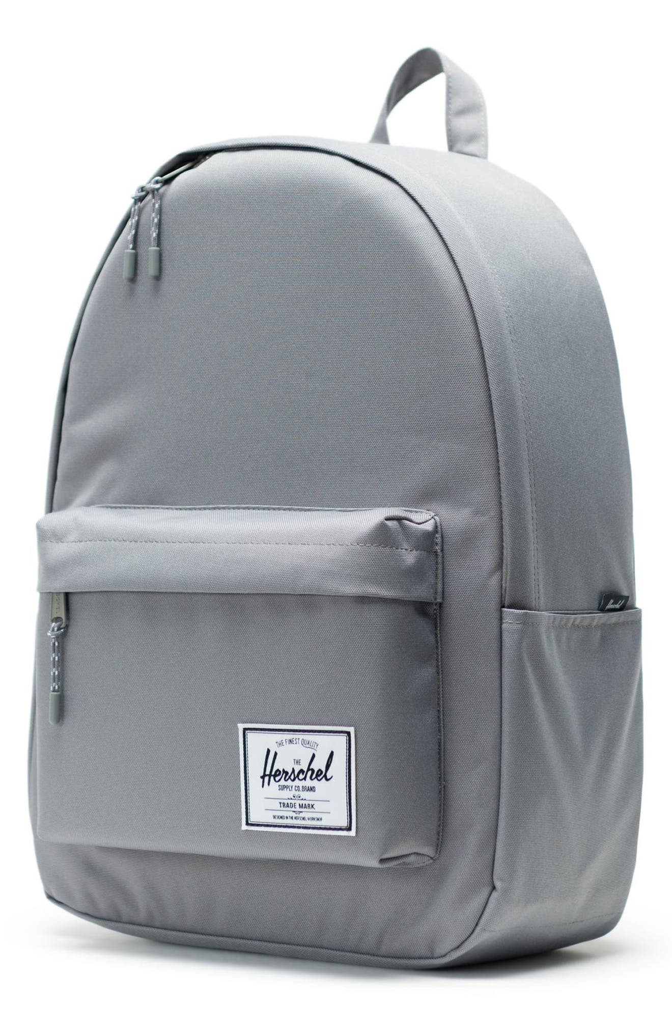HERSCHEL SUPPLY CO., Classic XL Backpack, Alternate thumbnail 5, color, GREY