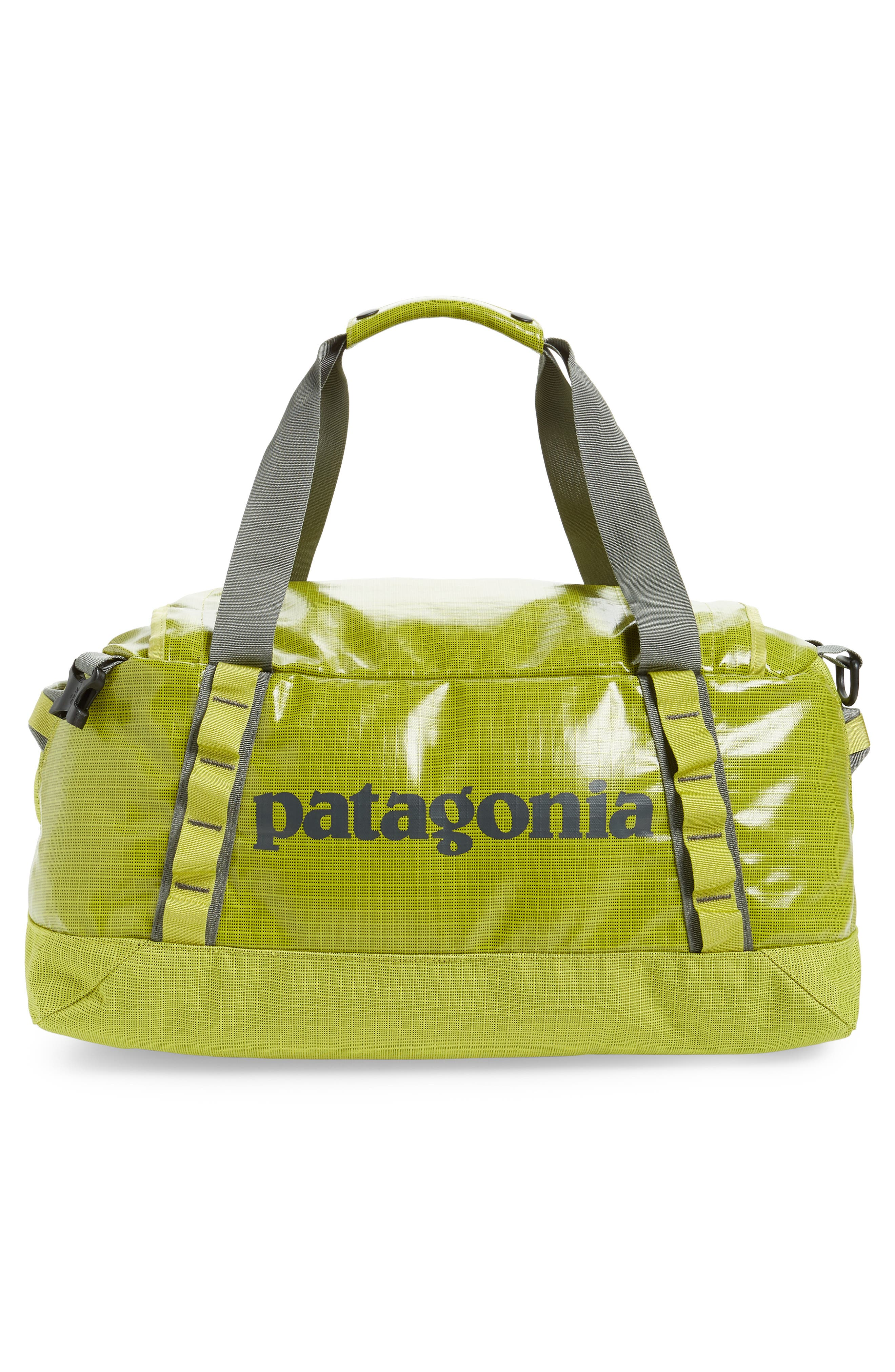 PATAGONIA, Black Hole Water Repellent 45-Liter Duffle Bag, Alternate thumbnail 4, color, FOLIOS GREEN