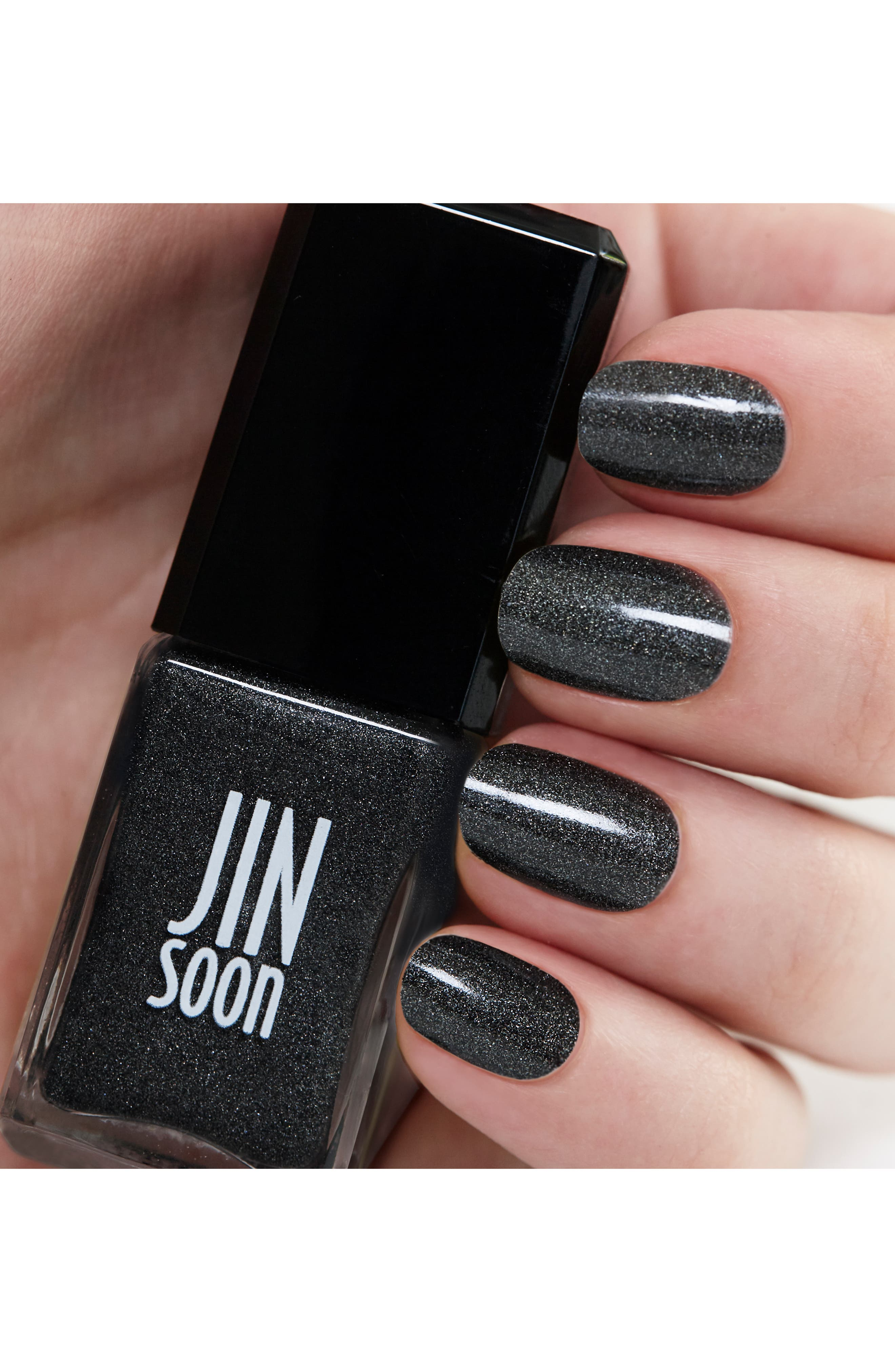 JINSOON, 'Mica' Nail Lacquer, Alternate thumbnail 2, color, 000