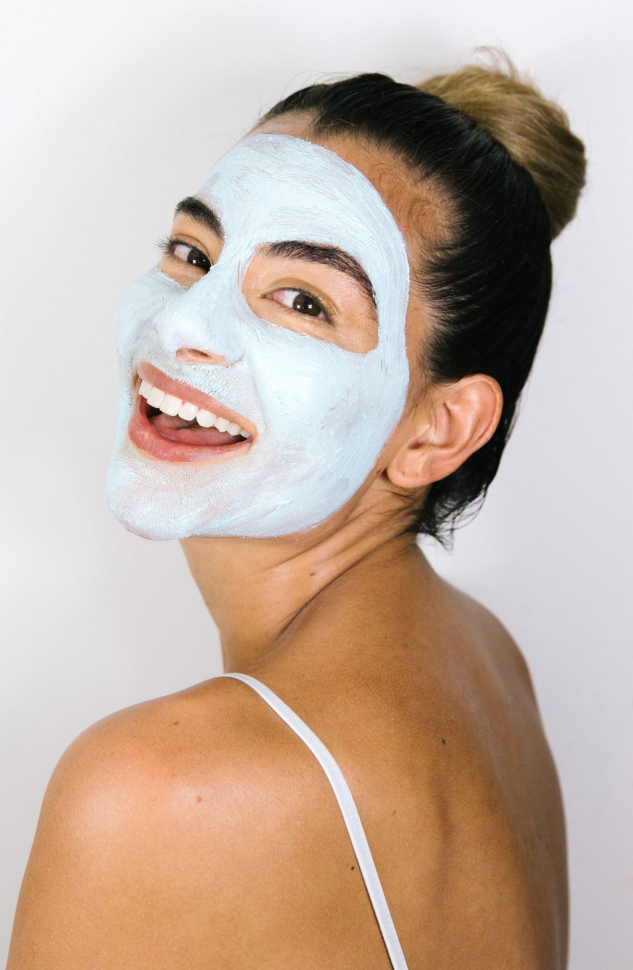 TULA PROBIOTIC SKINCARE, Exfoliating Treatment Mask, Alternate thumbnail 3, color, NO COLOR