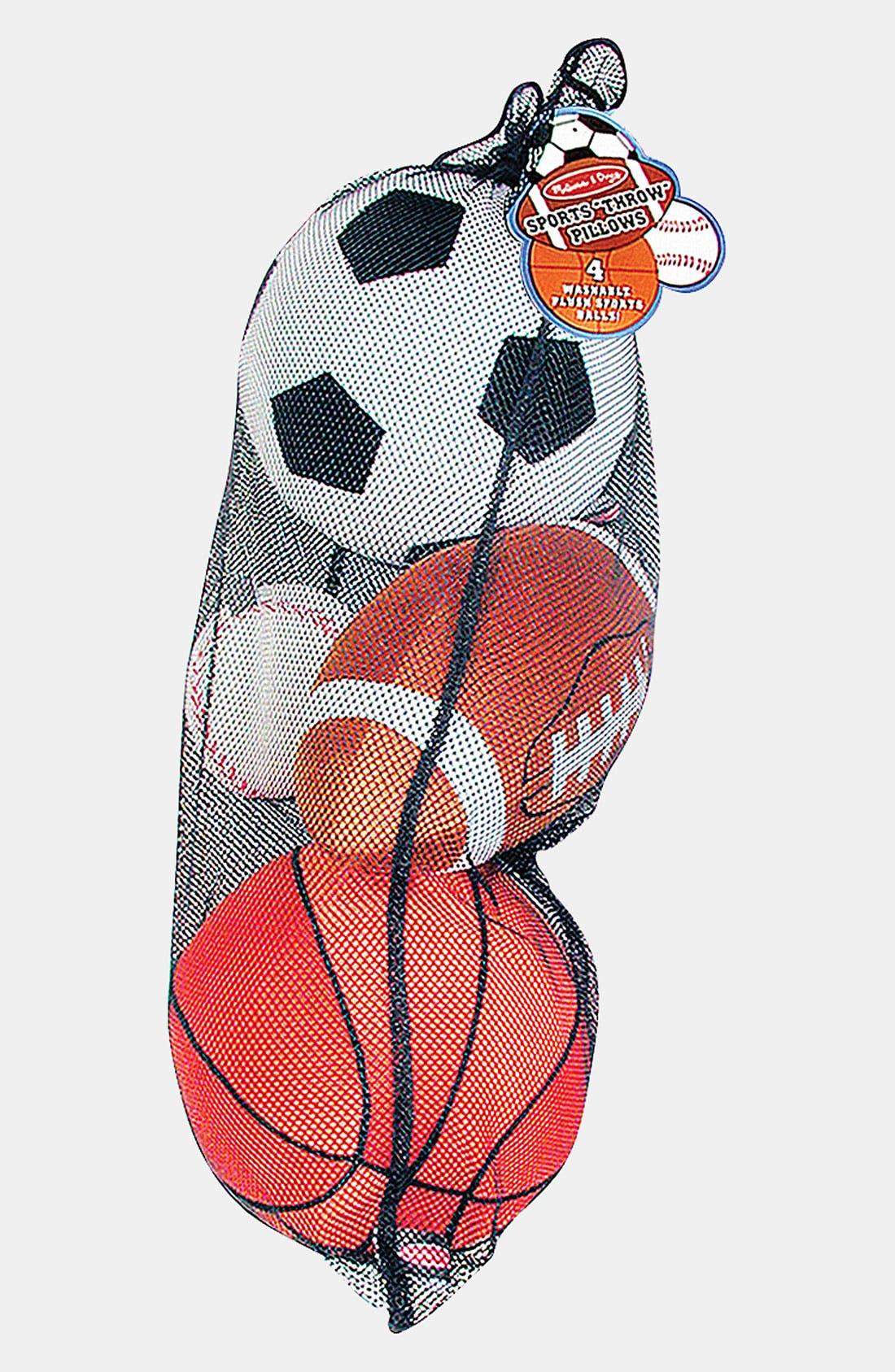 MELISSA & DOUG, 'Sports' Throw Pillow, Alternate thumbnail 2, color, 960
