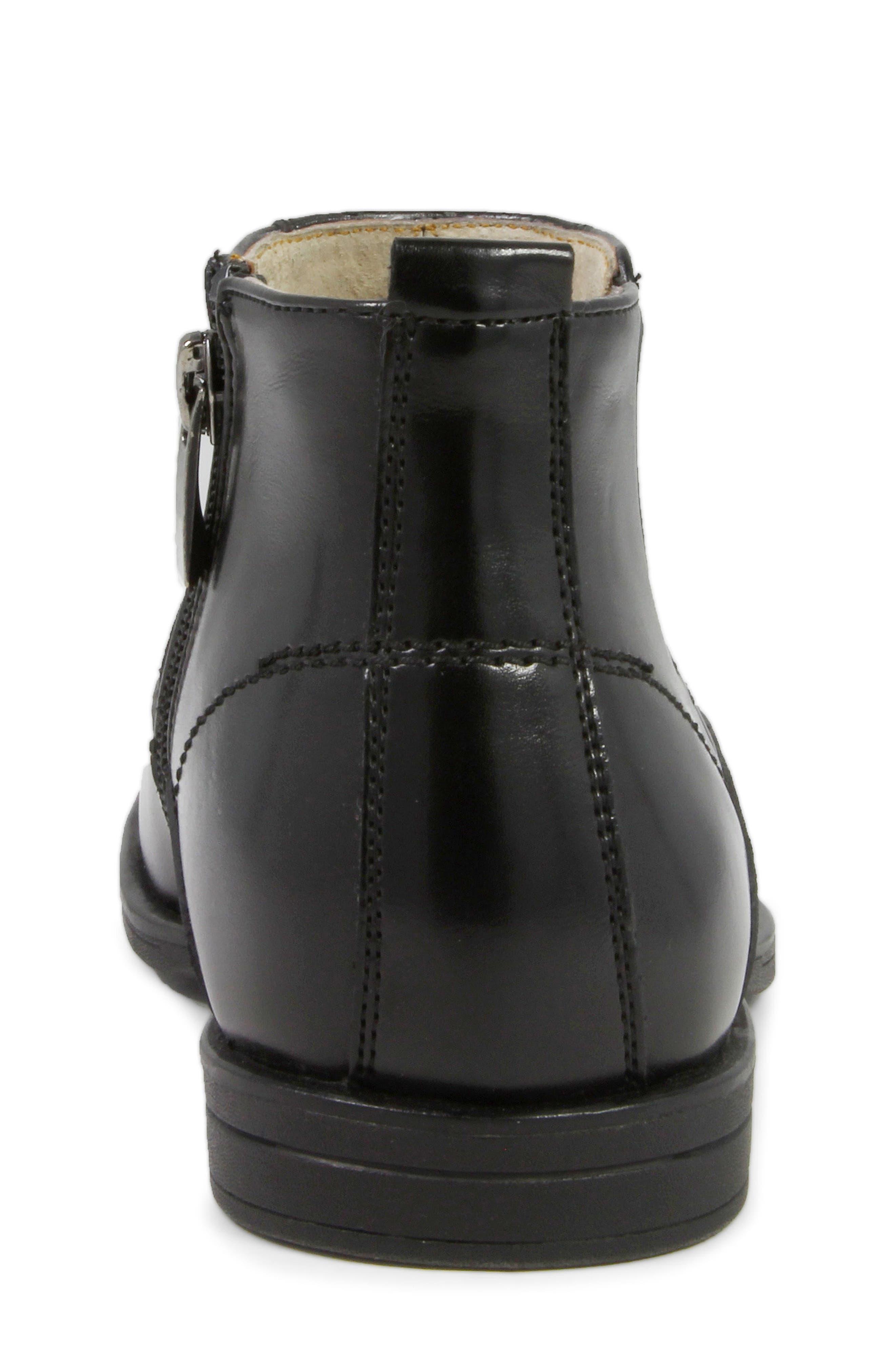 FLORSHEIM, Reveal Chelsea Boot, Alternate thumbnail 8, color, BLACK