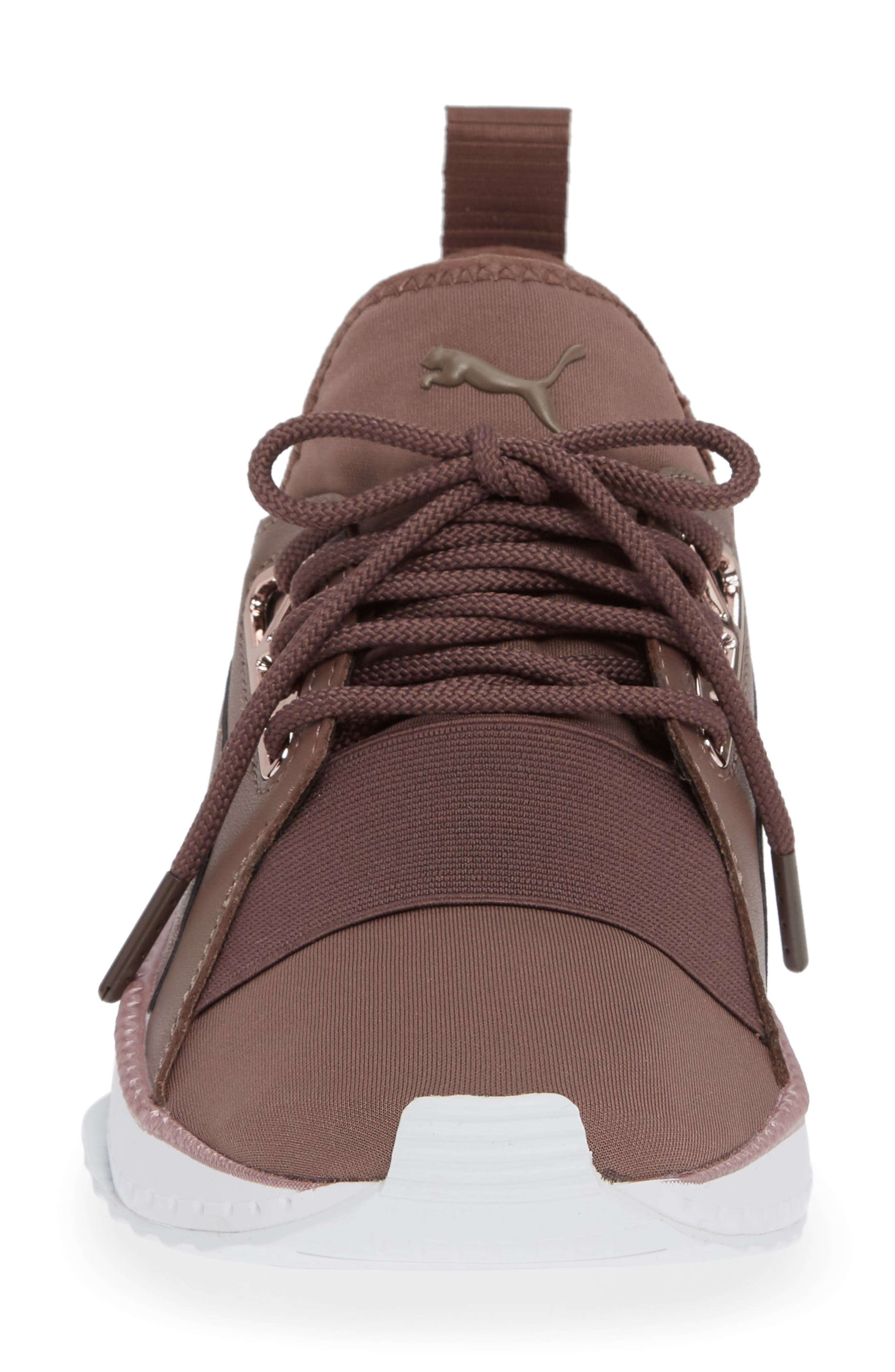 PUMA, TSUGI Apex Jewel Sneaker, Alternate thumbnail 4, color, PEPPERCORN/ PEPPERCORN