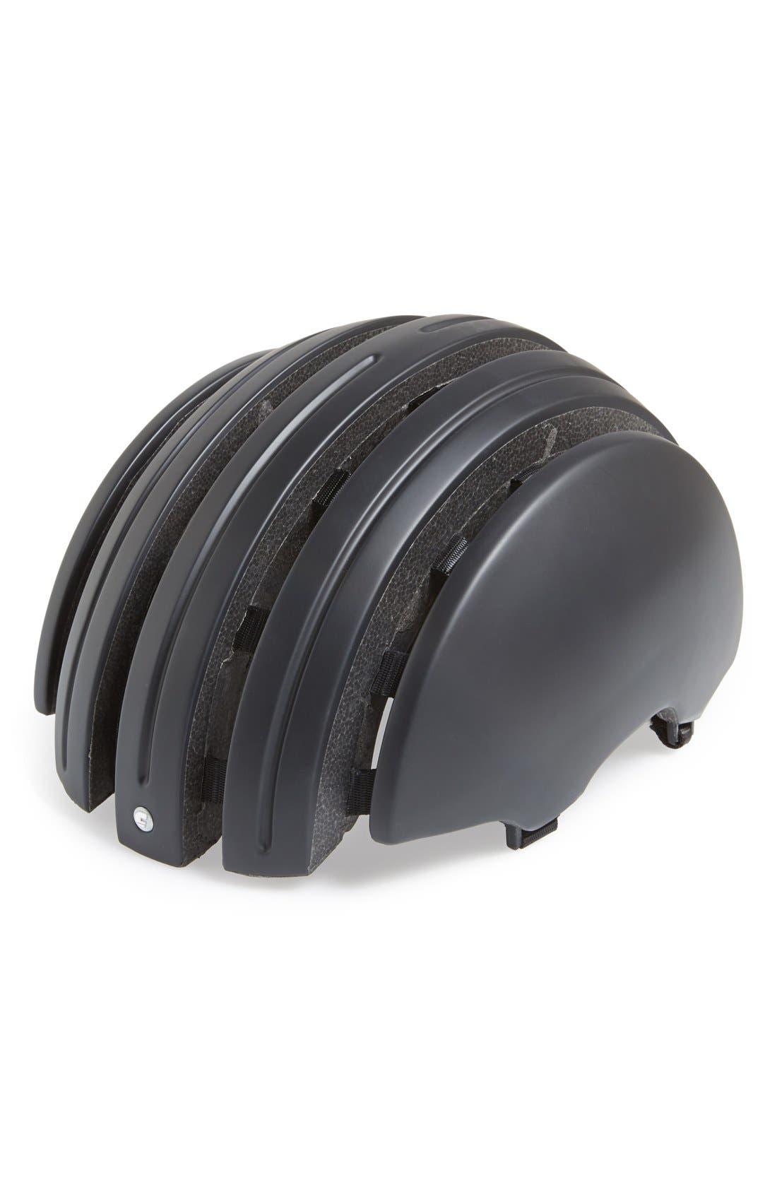 CARRERA EYEWEAR, Folding Bicycle Helmet, Main thumbnail 1, color, 001