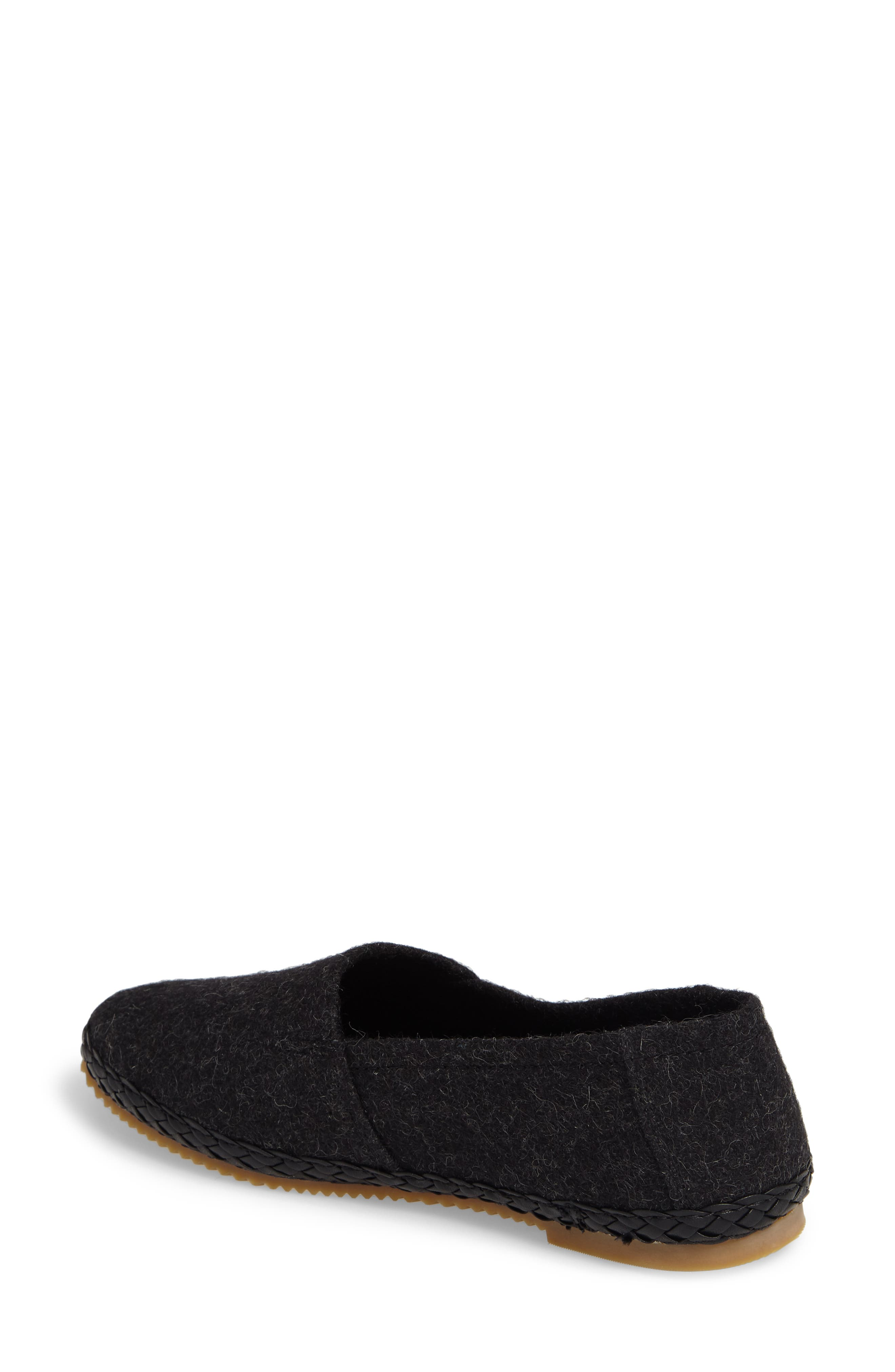 AETREX, Kylie Slip-On, Alternate thumbnail 2, color, BLACK FABRIC
