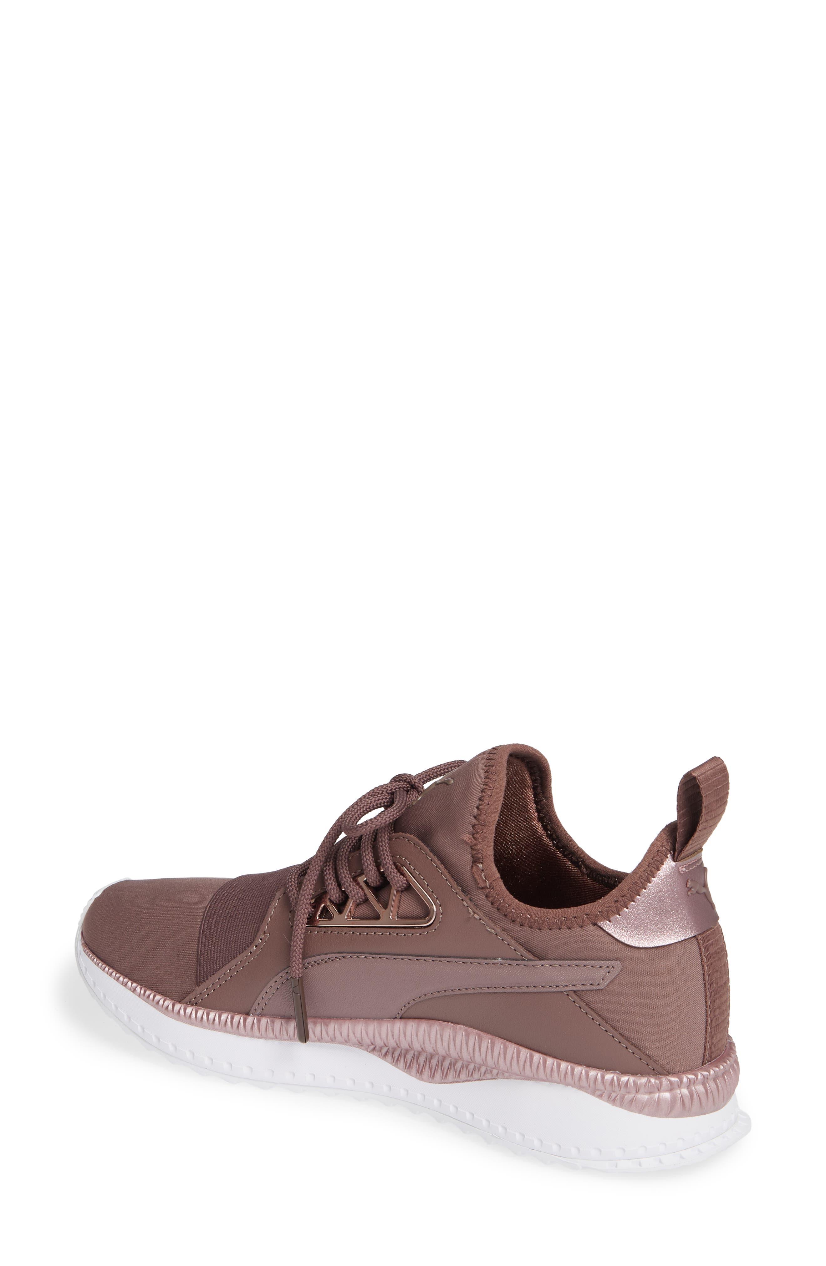 PUMA, TSUGI Apex Jewel Sneaker, Alternate thumbnail 2, color, PEPPERCORN/ PEPPERCORN