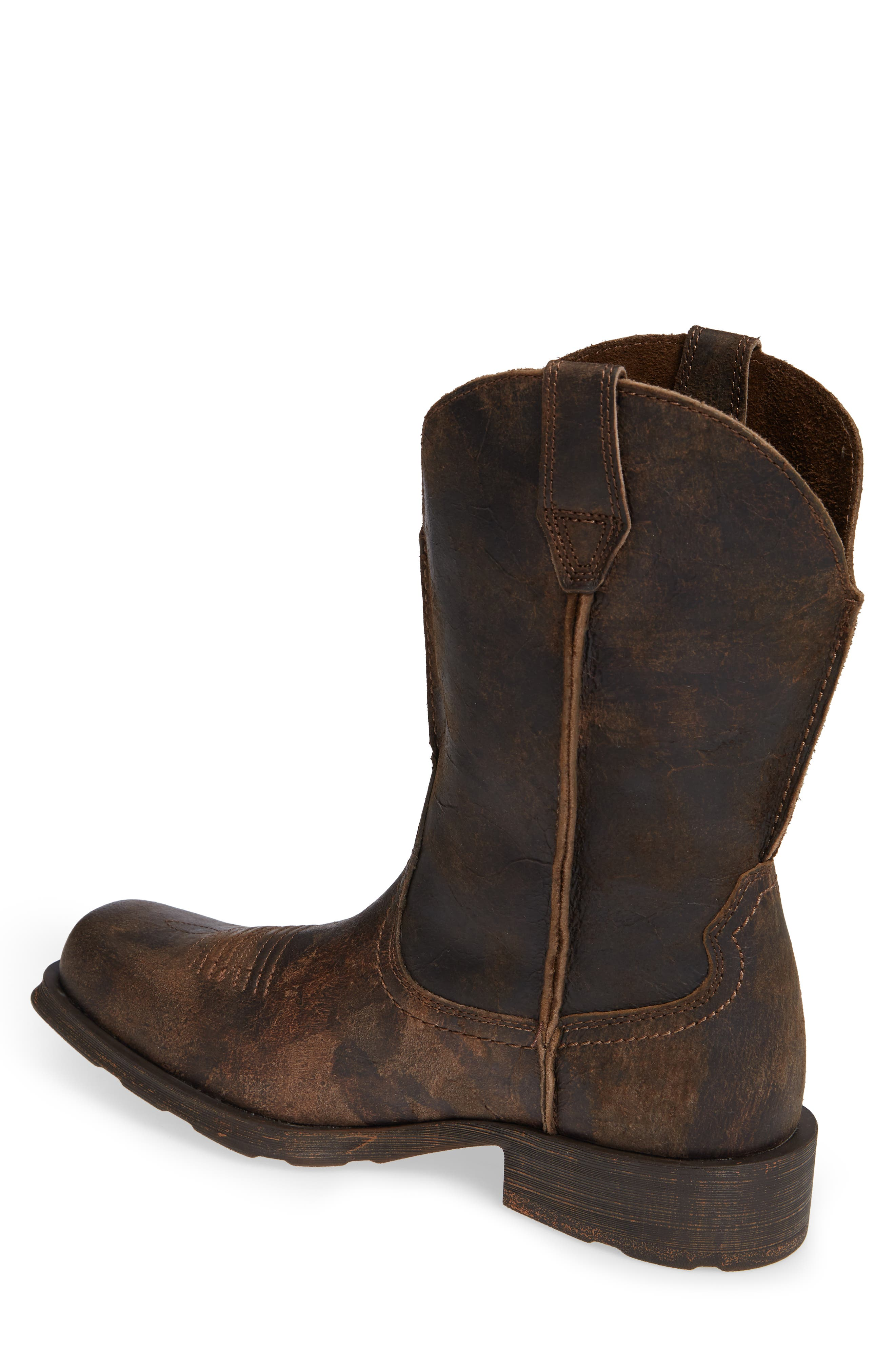 ARIAT, Rambler Boot, Alternate thumbnail 2, color, ANTIQUE GREY LEATHER