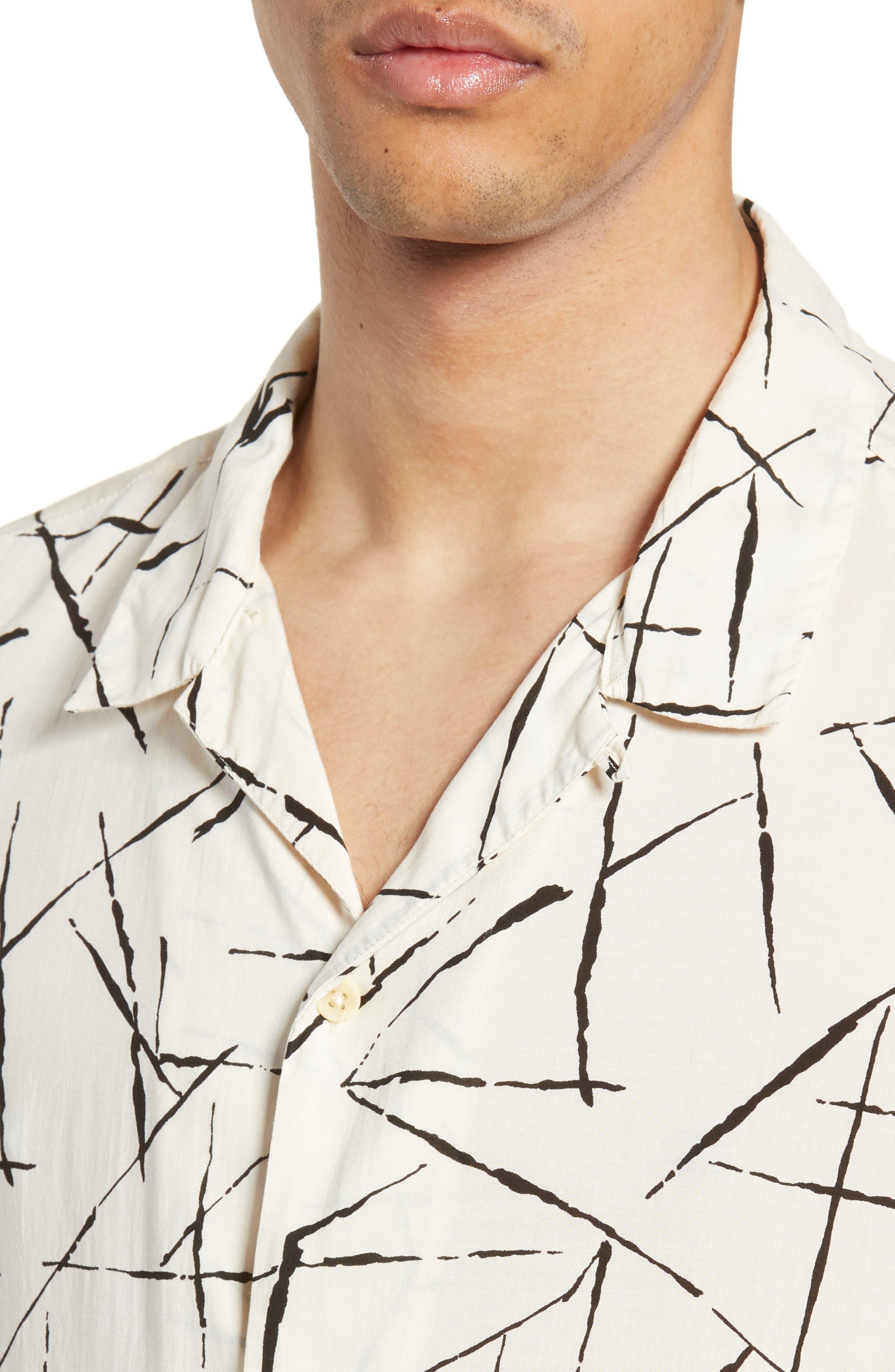 ALLSAINTS, Burma Classic Shirt, Alternate thumbnail 2, color, ECRU WHITE