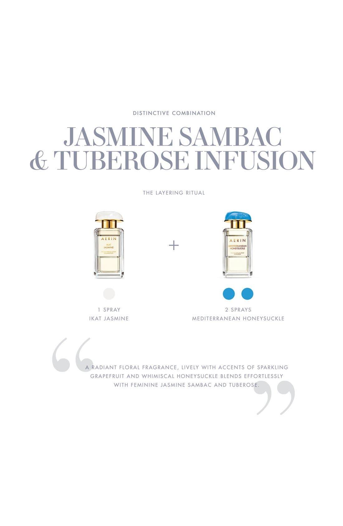 ESTÉE LAUDER, AERIN Beauty Ikat Jasmine Eau de Parfum Spray, Alternate thumbnail 5, color, NO COLOR