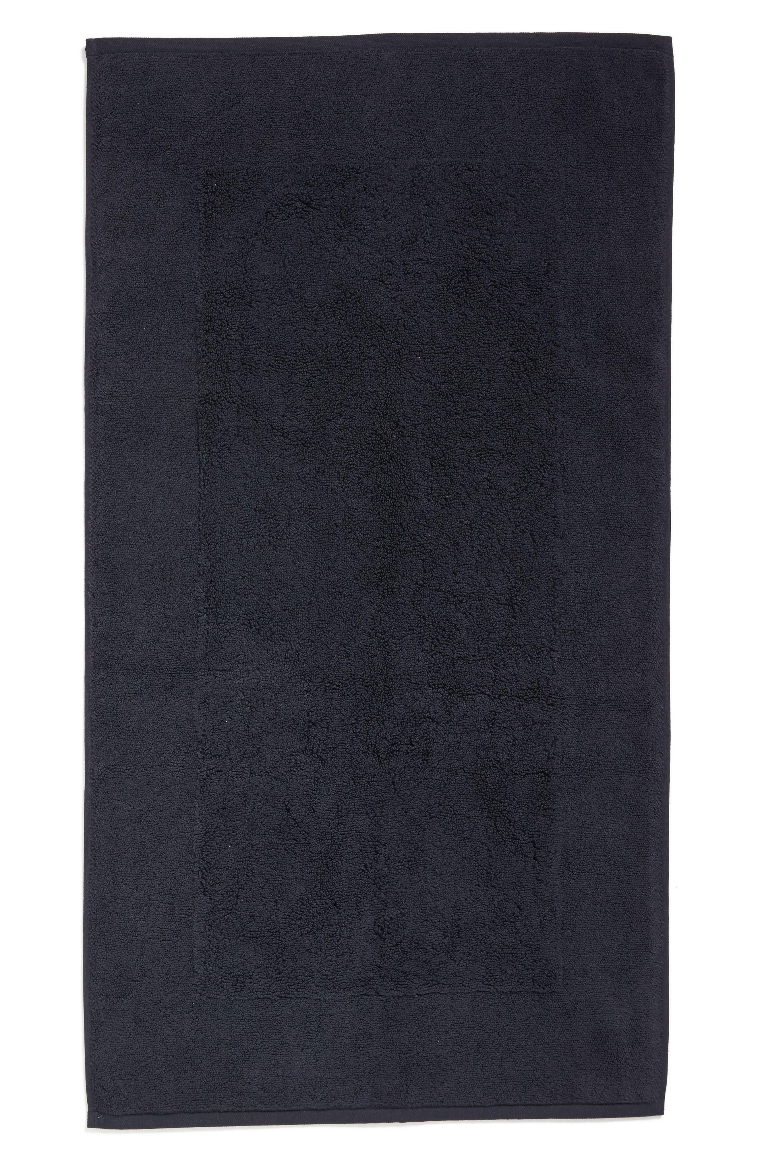 SFERRA Bello Bath Mat, Main, color, BLACK