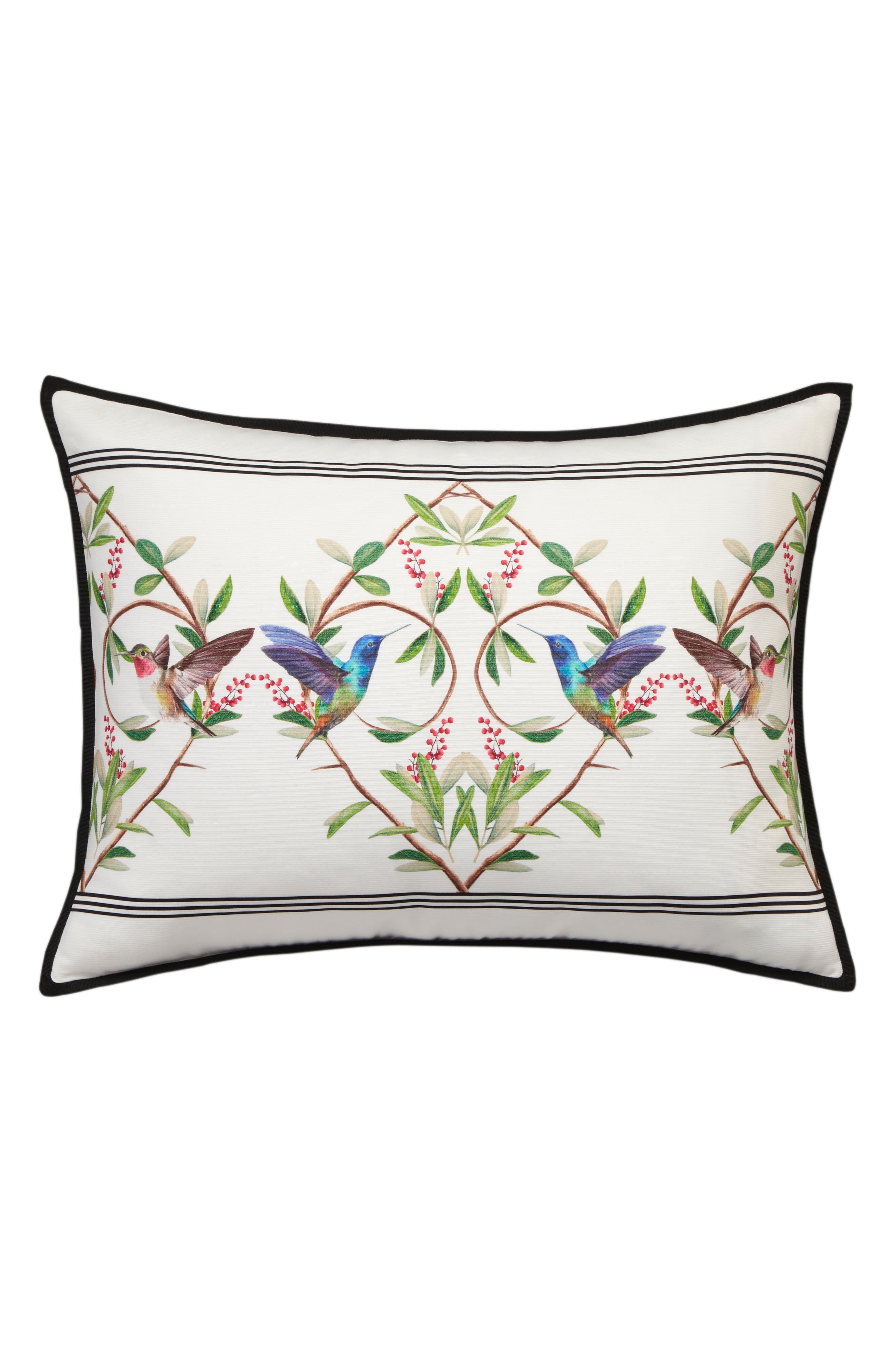 TED BAKER LONDON, Highgrove Comforter & Sham Set, Alternate thumbnail 5, color, WHITE/ MULTI