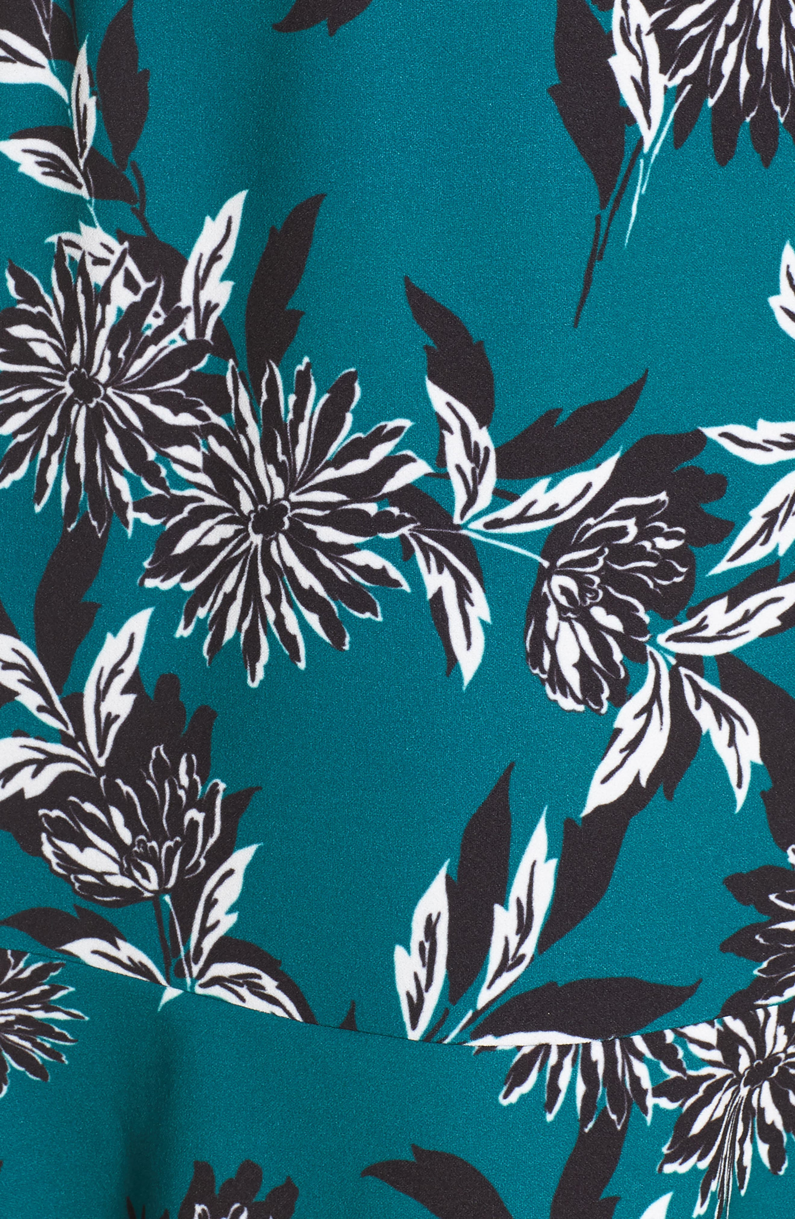 JULIA JORDAN, Crepe Scuba A-Line Dress, Alternate thumbnail 6, color, 300
