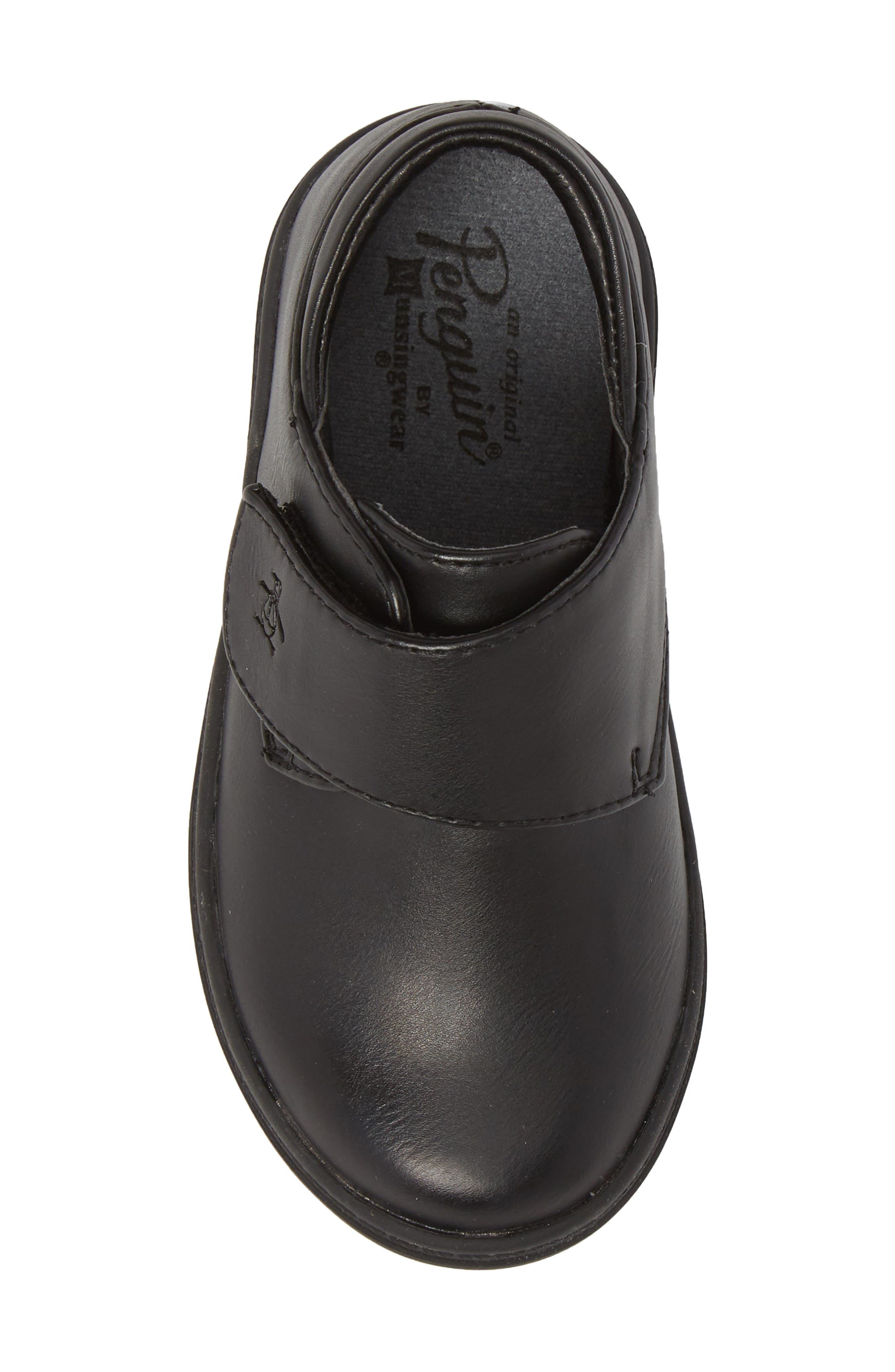 ORIGINAL PENGUIN, Felton Sneaker, Alternate thumbnail 5, color, BLACK/ BLACK