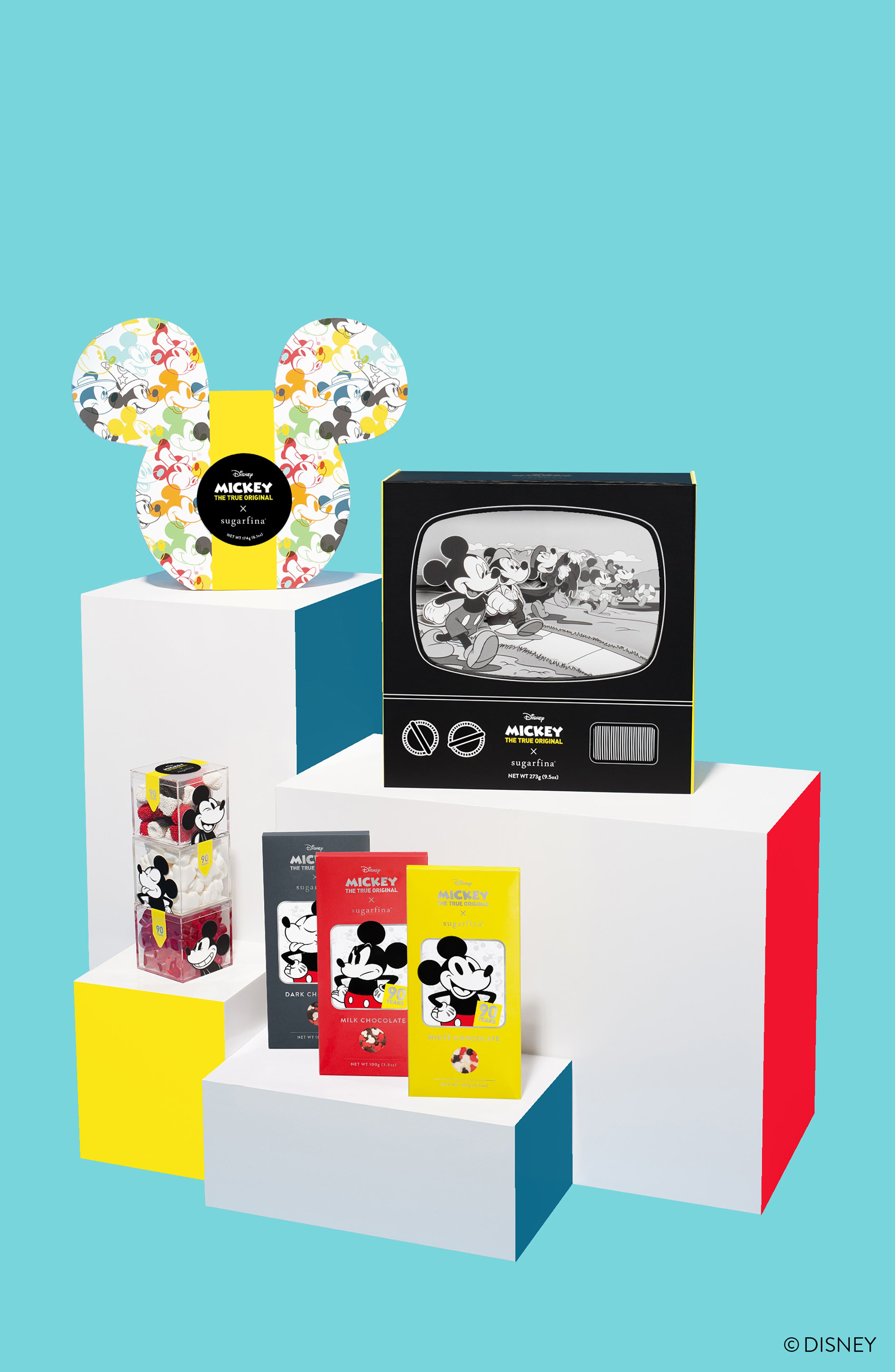 SUGARFINA, x Disney Mickey Ears 2-Piece Bento Box, Alternate thumbnail 8, color, 100