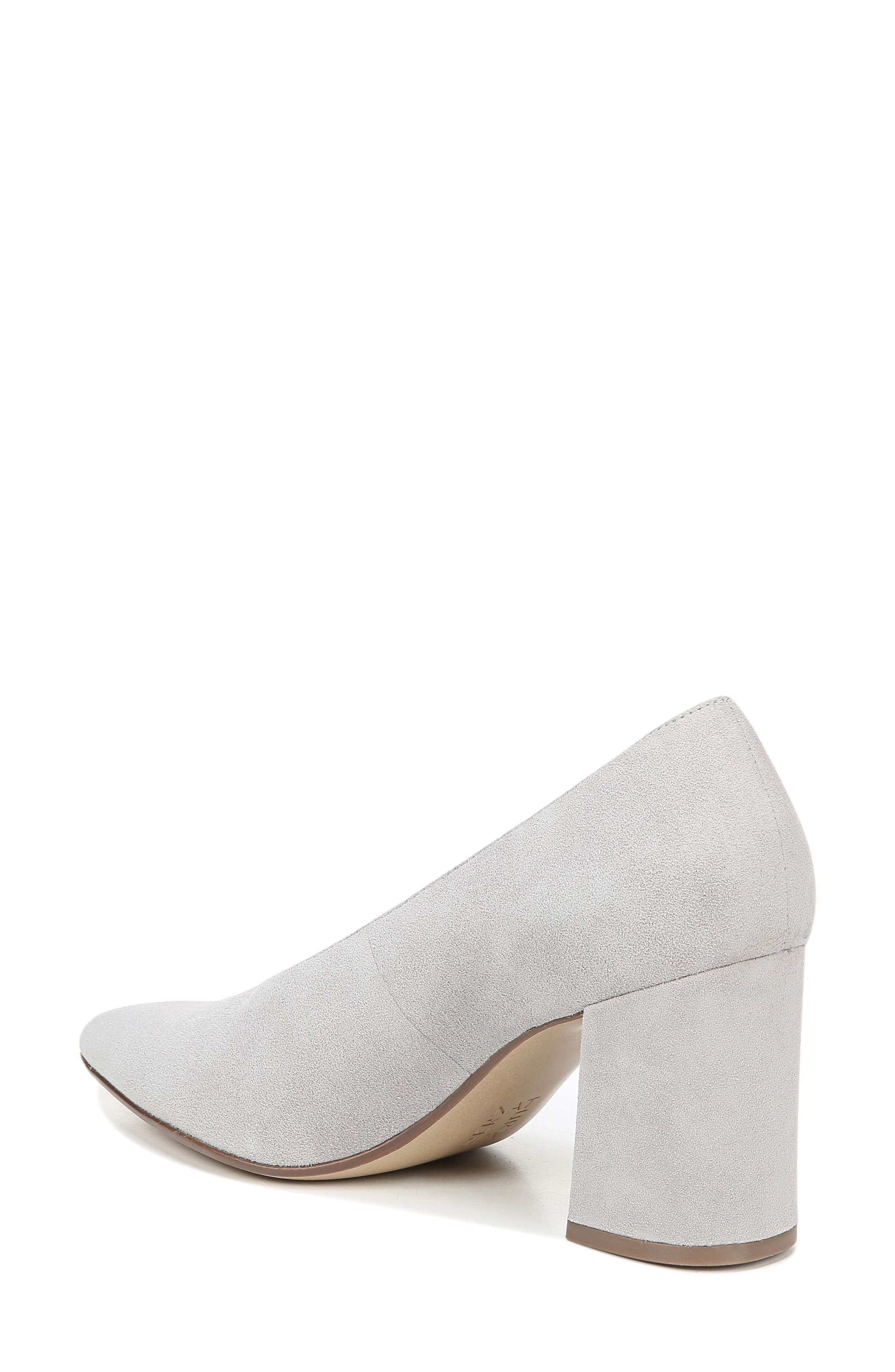 NATURALIZER, Hope Pointy Toe Pump, Alternate thumbnail 2, color, ICY GREY SUEDE
