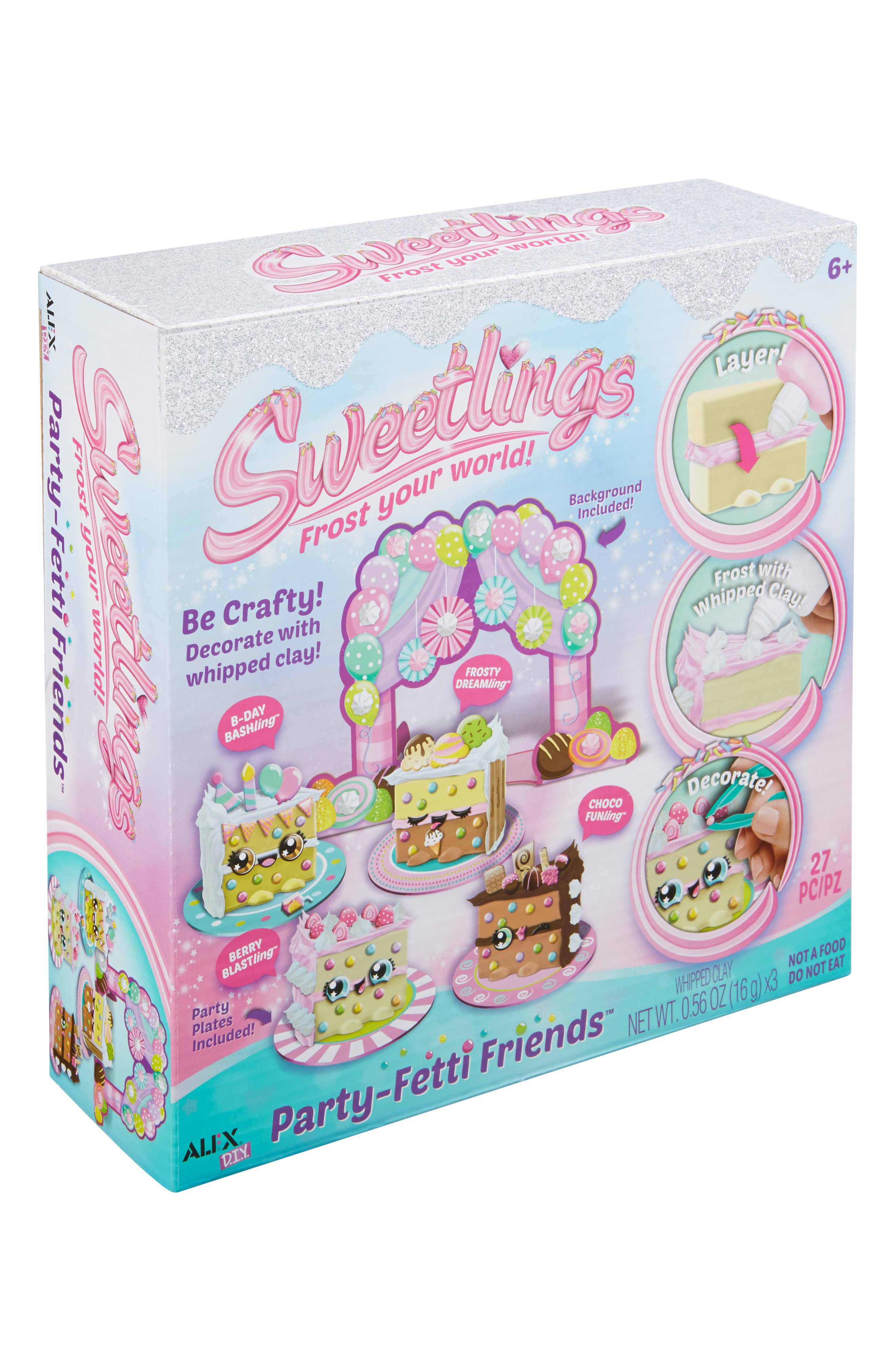 ALEX<SUP>®</SUP> TOYS, DIY Sweetlings Party Fetti Friends, Alternate thumbnail 5, color, 960
