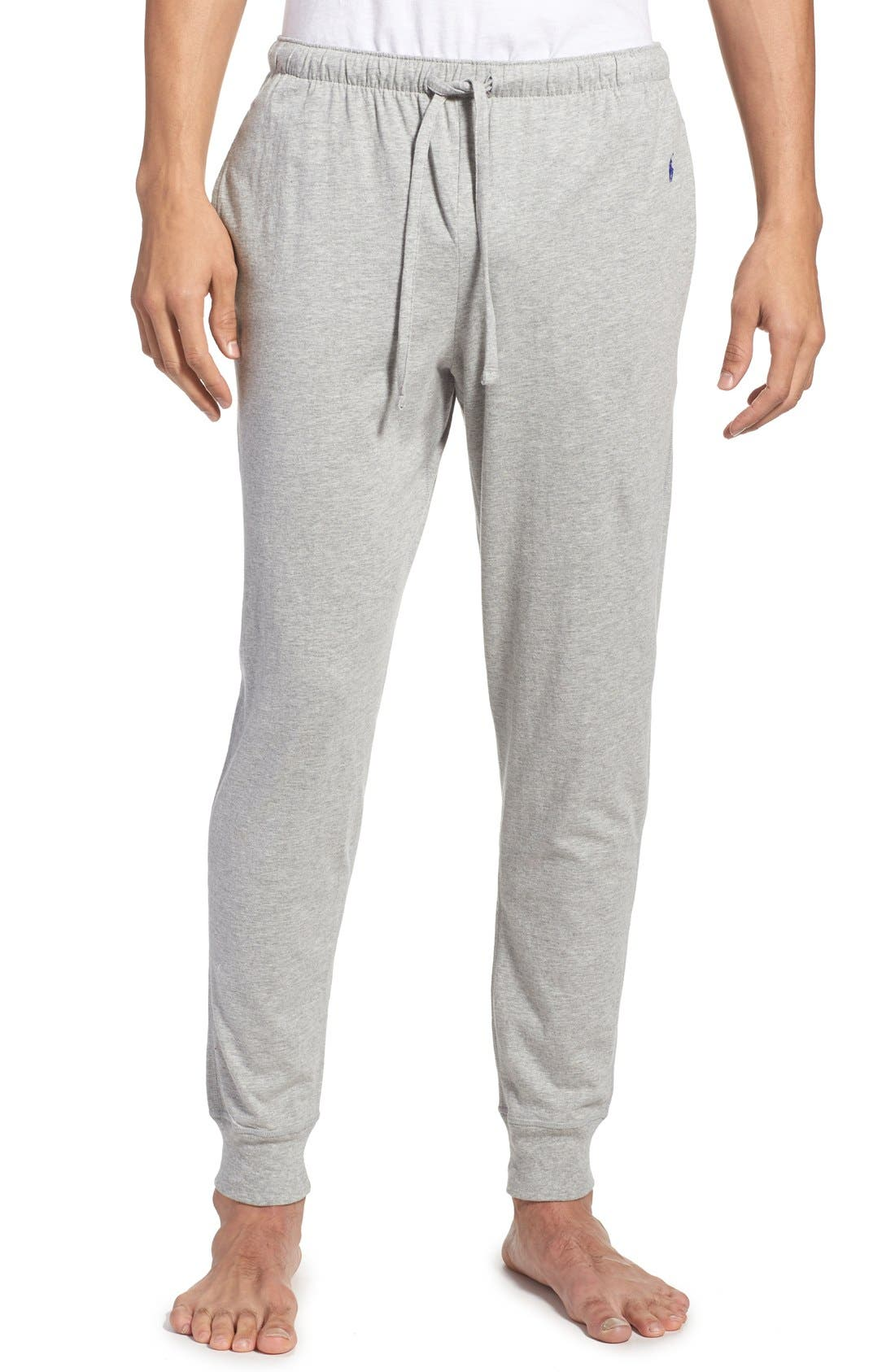POLO RALPH LAUREN, Relaxed Fit Jogger Pants, Main thumbnail 1, color, ANDOVER HEATHER
