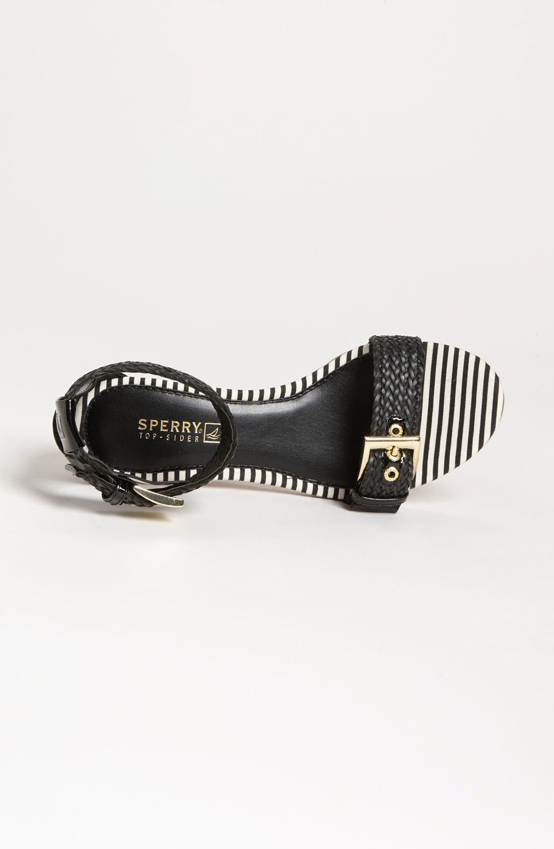 SPERRY, Top-Sider<sup>®</sup> 'Lynbrook' Sandal, Alternate thumbnail 3, color, 001