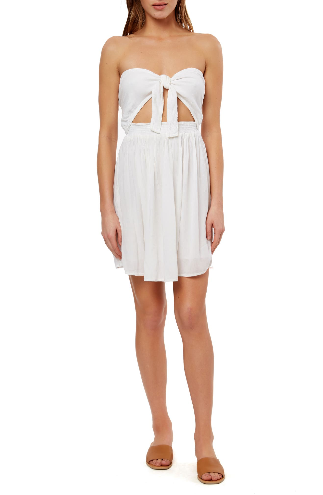 c3916e8d65f1 O'Neill Lawrence Convertible Strapless Minidress | Nordstrom