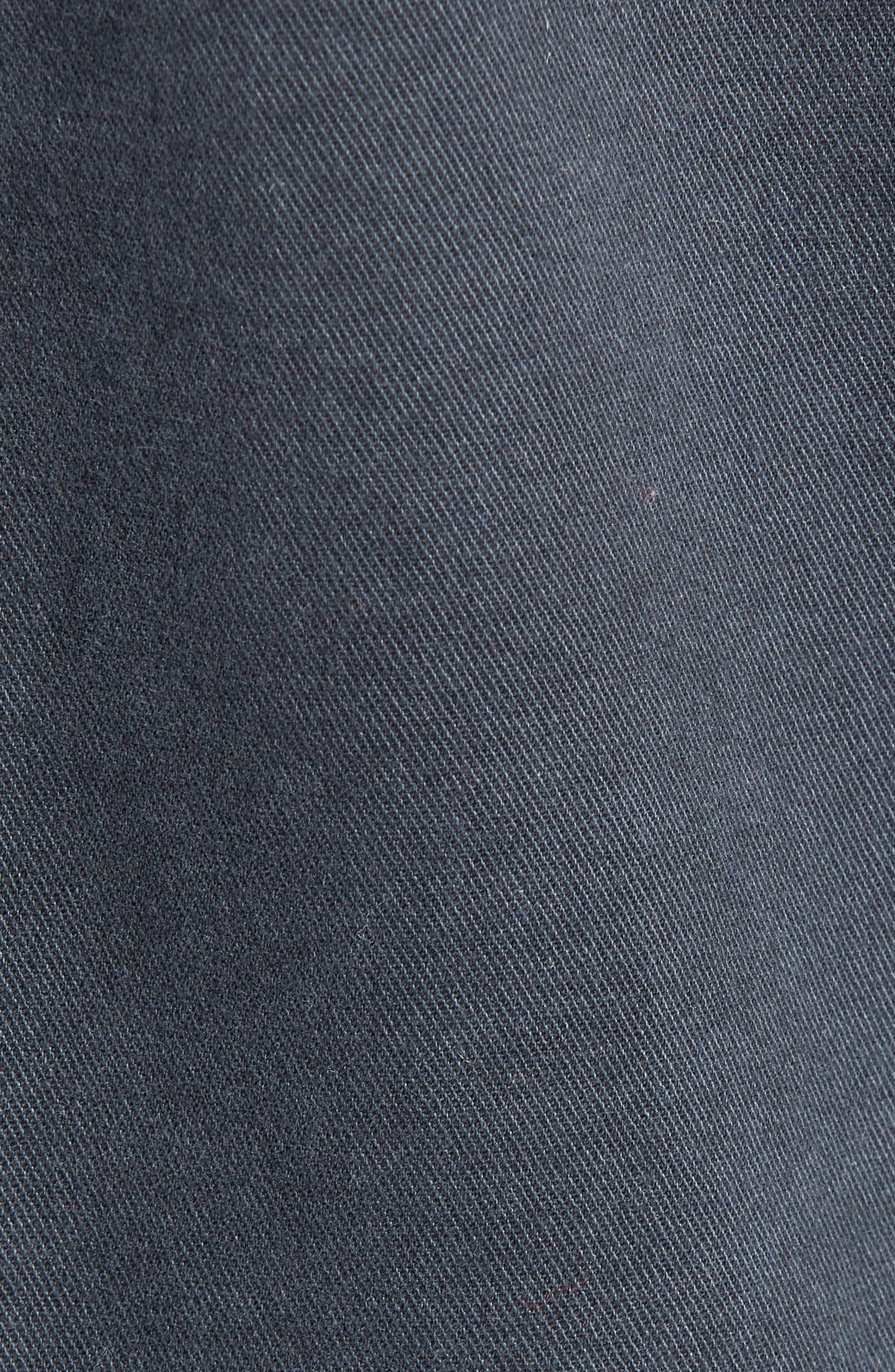 CASLON<SUP>®</SUP>, Short Utility Jacket, Alternate thumbnail 7, color, GREY EBONY