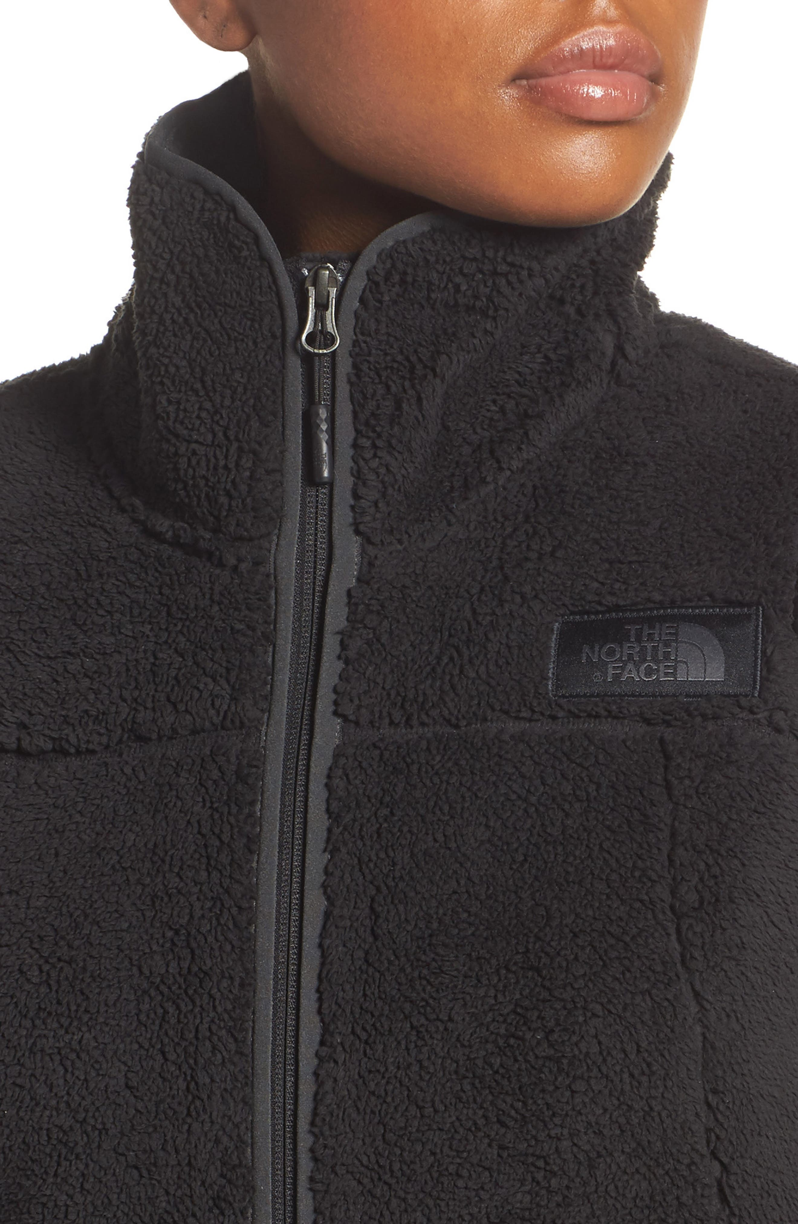 THE NORTH FACE, Campshire Vest, Alternate thumbnail 5, color, 001