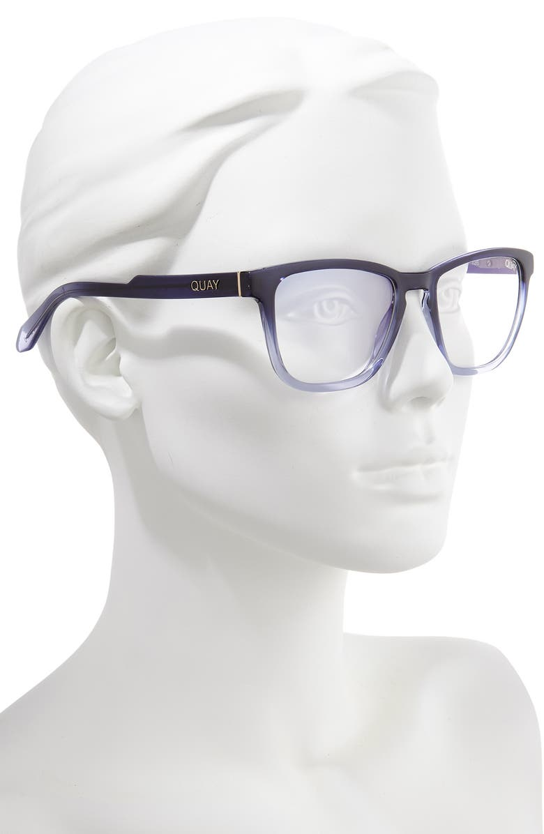 4d11d07fe2 Quay Australia Hardwire 54mm Blue Light Blocking Glasses
