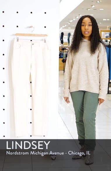 Waxed Denim Slim Leg Jeans, sales video thumbnail