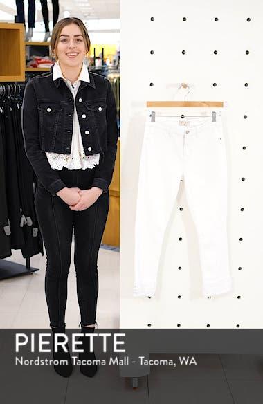 Fringe Hem Crop Jeans, sales video thumbnail