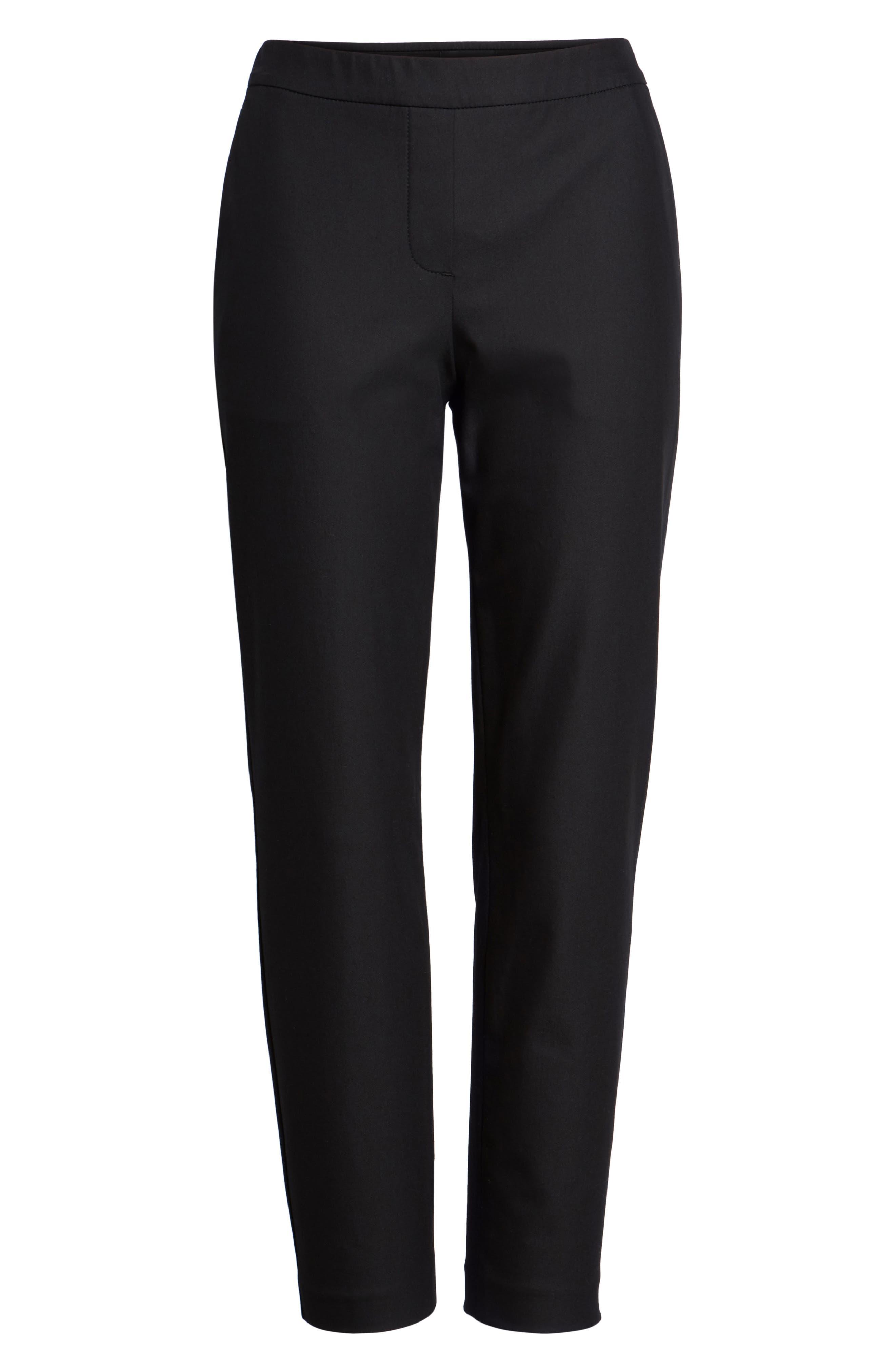 THEORY, 'Thaniel' Trousers, Main thumbnail 1, color, BLACK