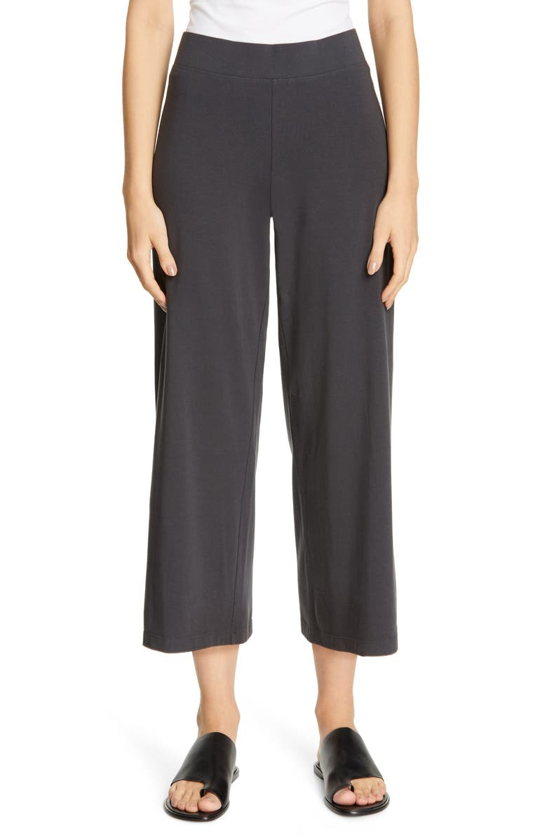 Eileen Fisher Pants WIDE CROP YOKED PANTS