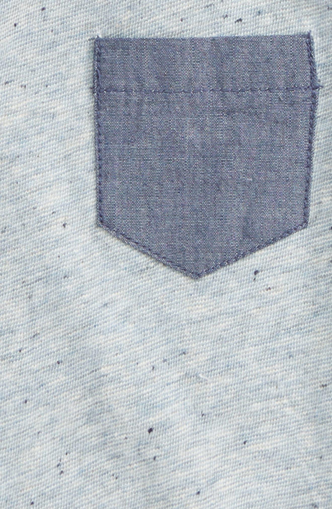 TUCKER + TATE, Pocket T-Shirt, Alternate thumbnail 2, color, BLUE DUSK