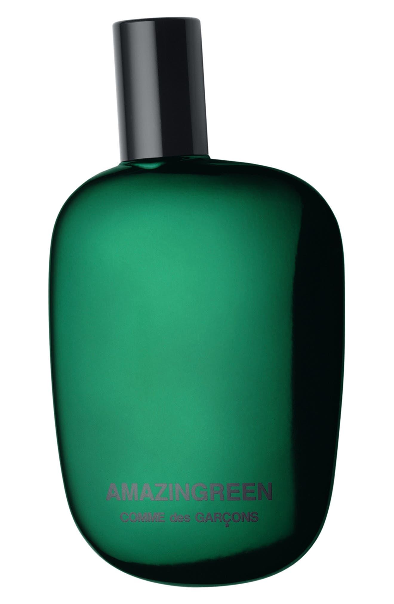 COMME DES GARÇONS, Amazingreen Eau de Parfum, Main thumbnail 1, color, GREEN