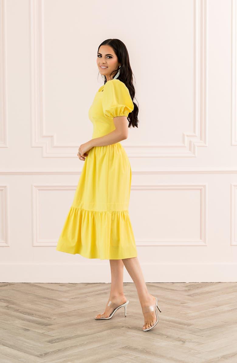Rachel Parcell Puff Sleeve Dress (Nordstrom Exclusive) | Nordstrom