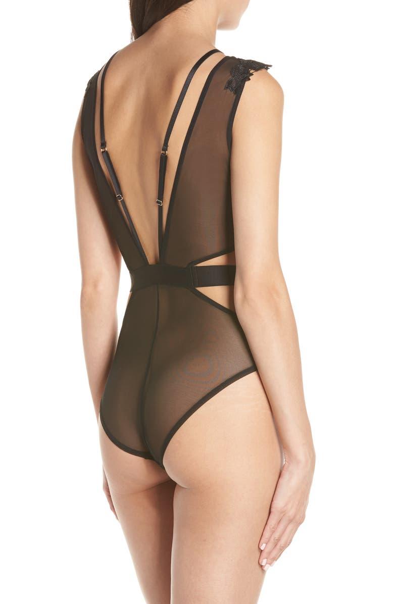 36252110e2 Bluebella Ripley Cutout Bodysuit In Black | ModeSens