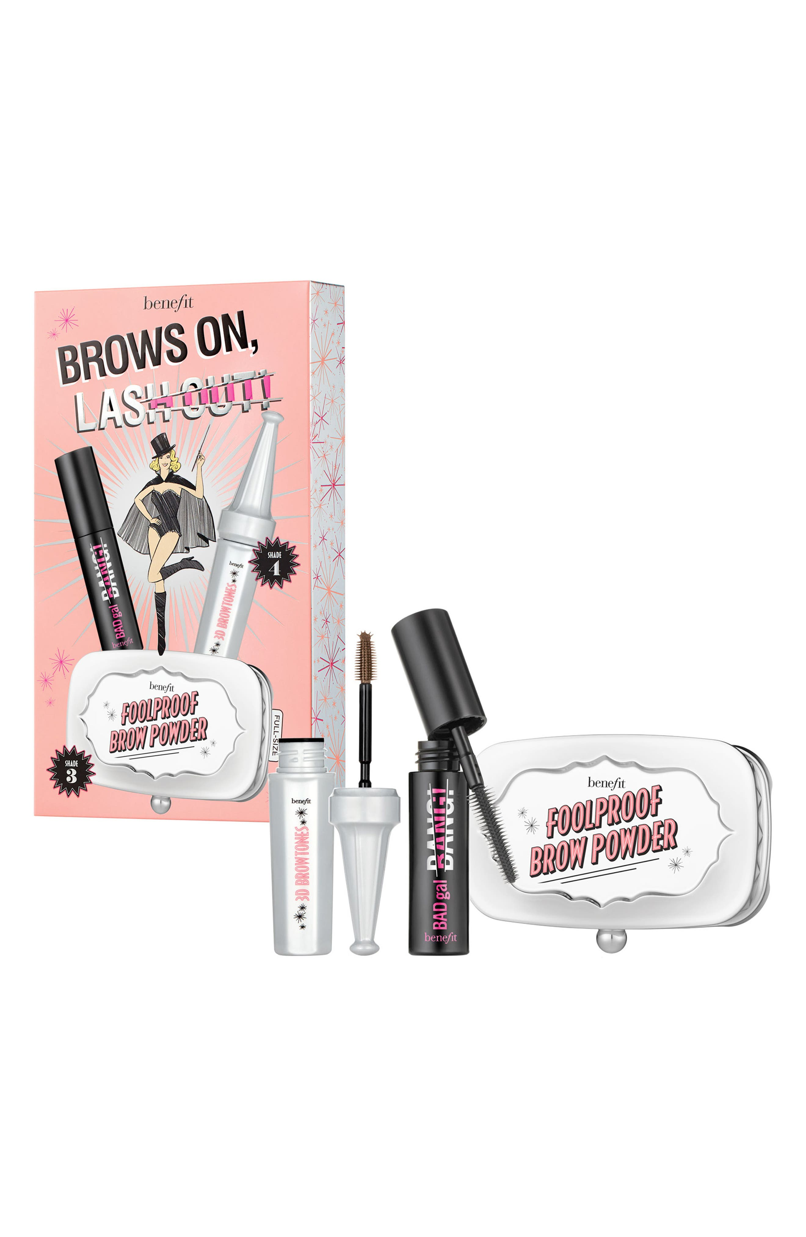 BENEFIT COSMETICS, Benefit Fall Faves Brow Set, Alternate thumbnail 2, color, NO COLOR