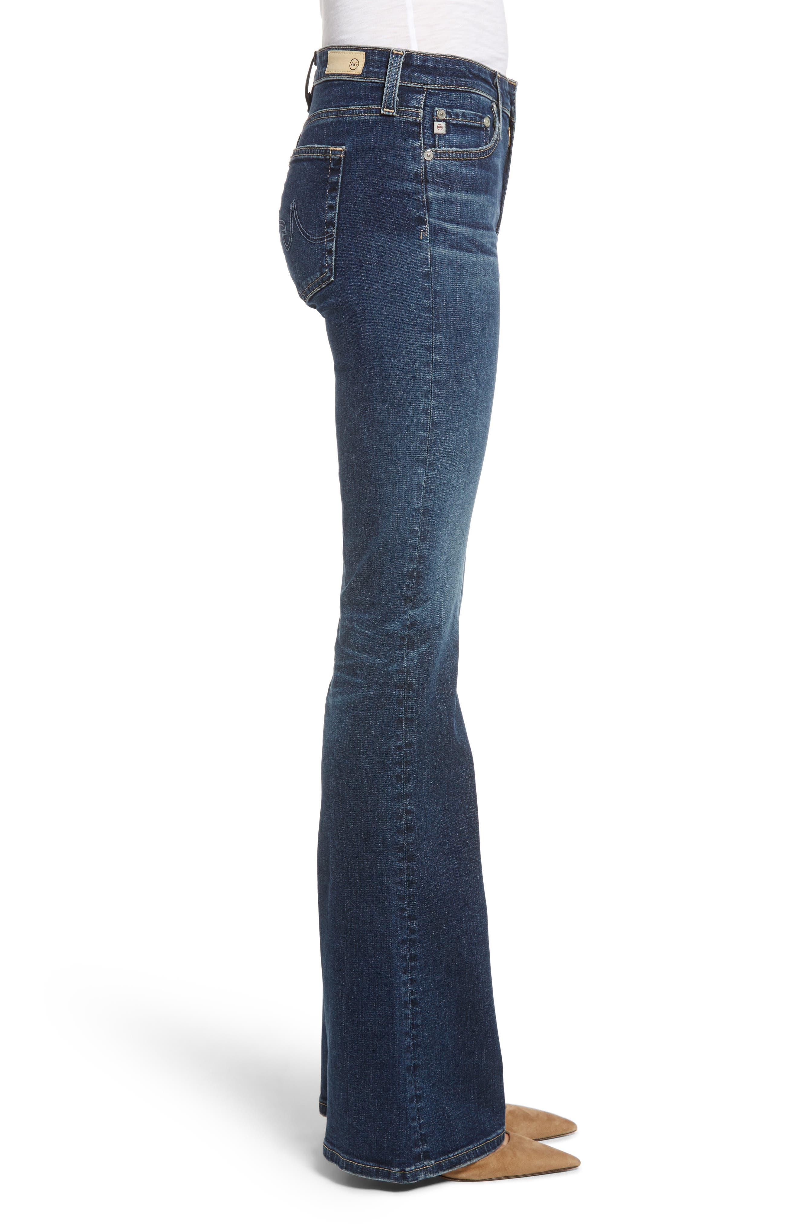 AG, Angel Flare Jeans, Alternate thumbnail 4, color, 10Y TRANSCENDENCE
