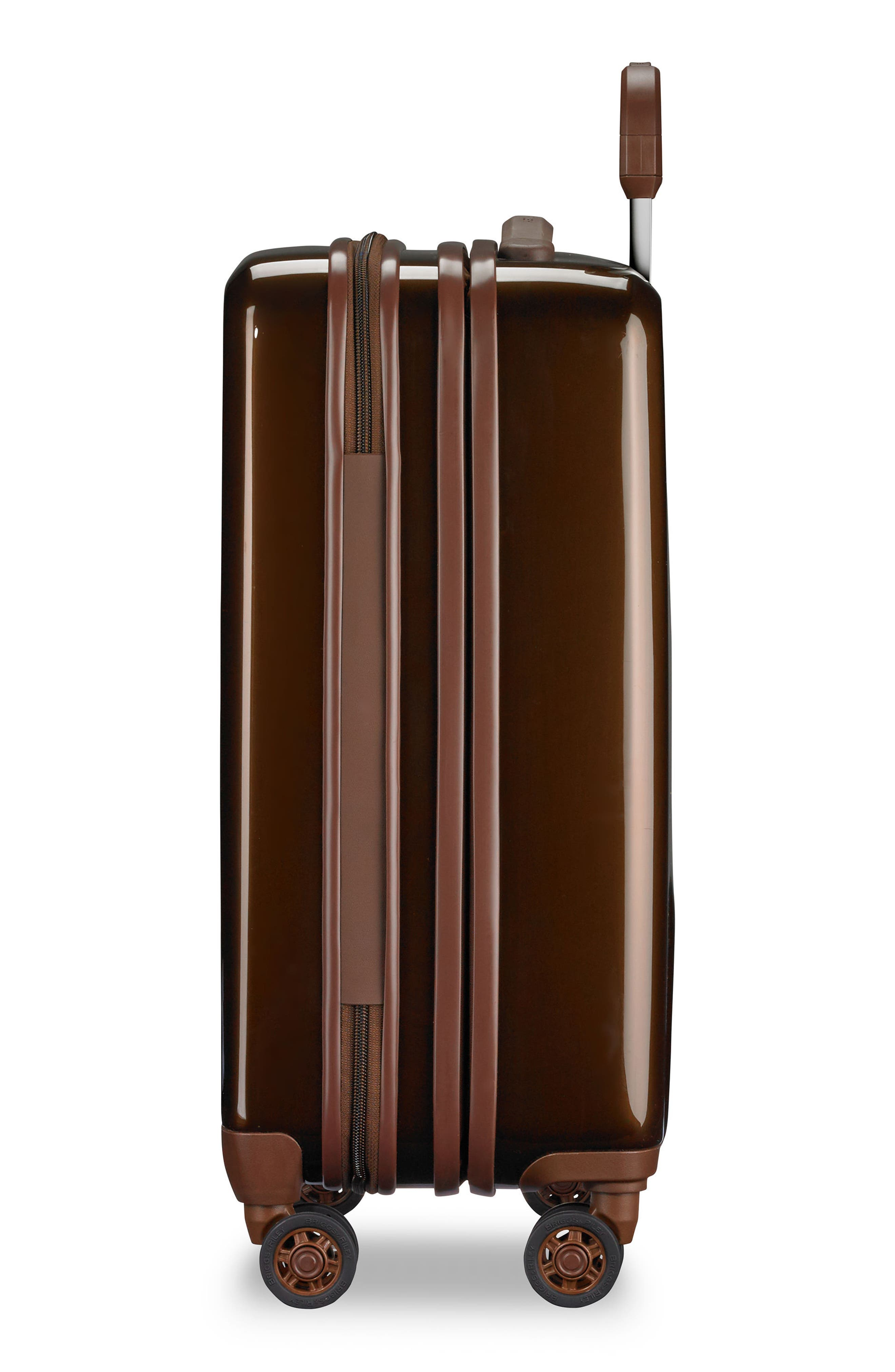 BRIGGS & RILEY, Sympatico 21-Inch Expandable Wheeled Carry-On, Alternate thumbnail 7, color, BRONZE