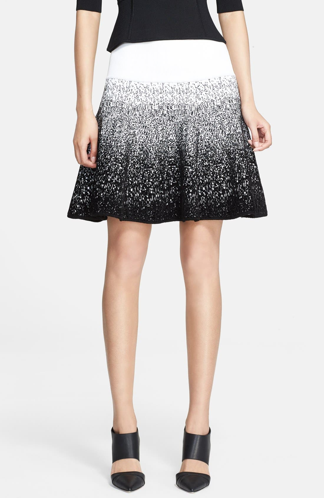 A.L.C. Chenille Flared Skirt, Main, color, 185
