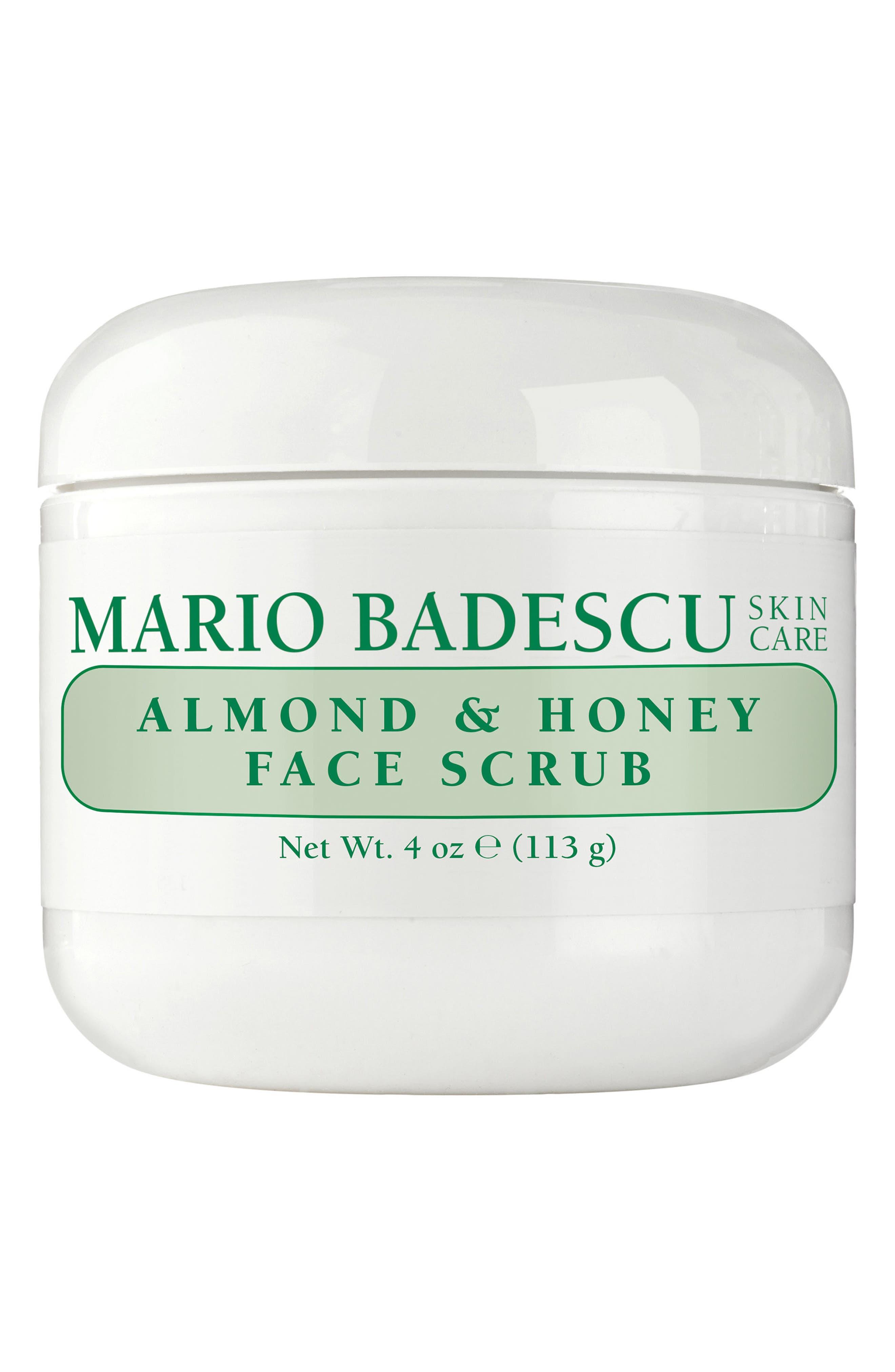 MARIO BADESCU Almond & Honey Face Scrub, Main, color, NO COLOR