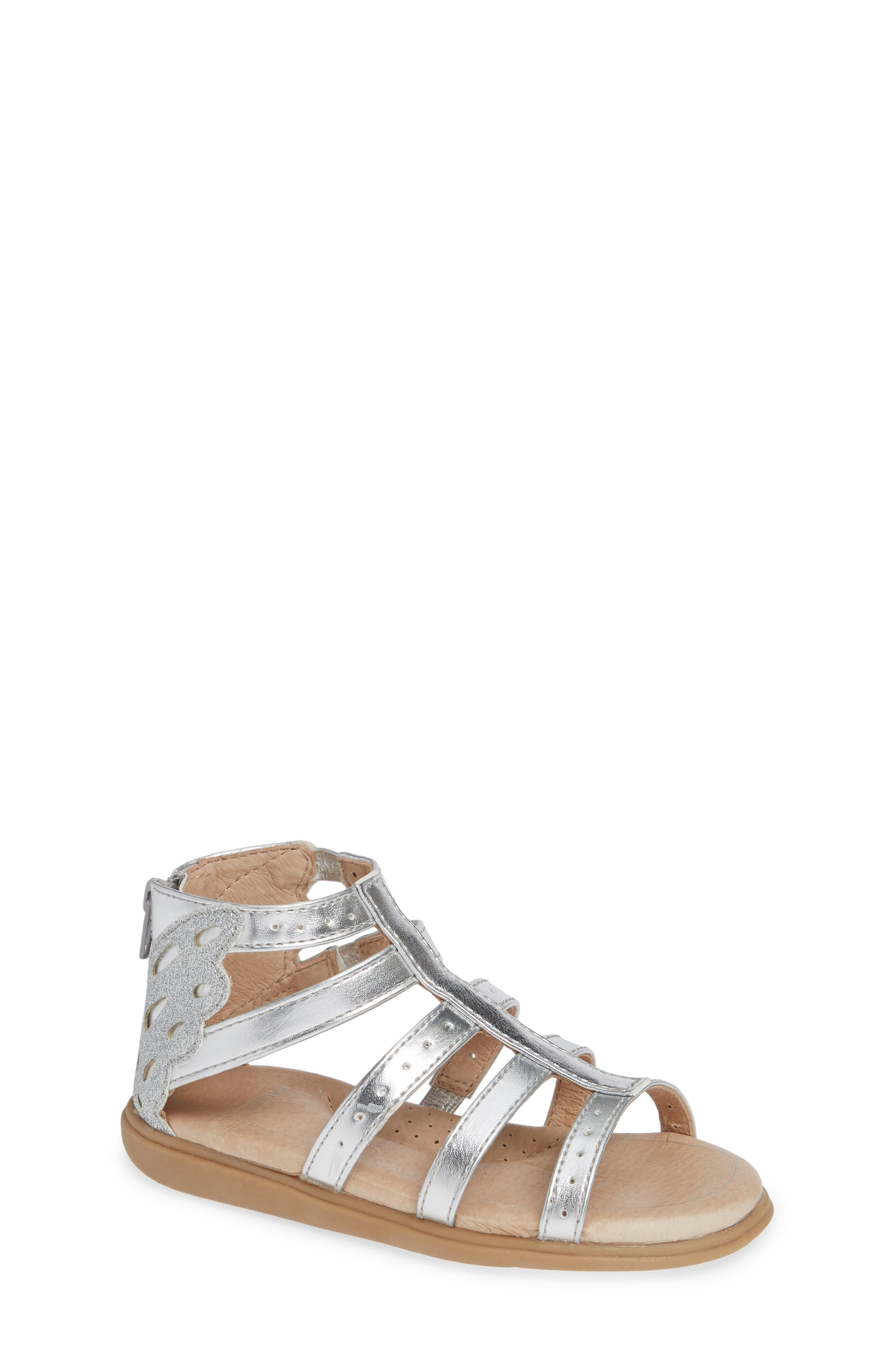 SOLE PLAY, Camille Metallic Sandal, Main thumbnail 1, color, SILVER