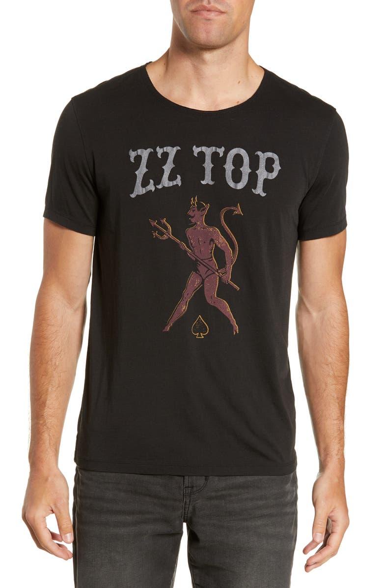 John Varvatos T-shirts ZZ TOP DEVIL T-SHIRT