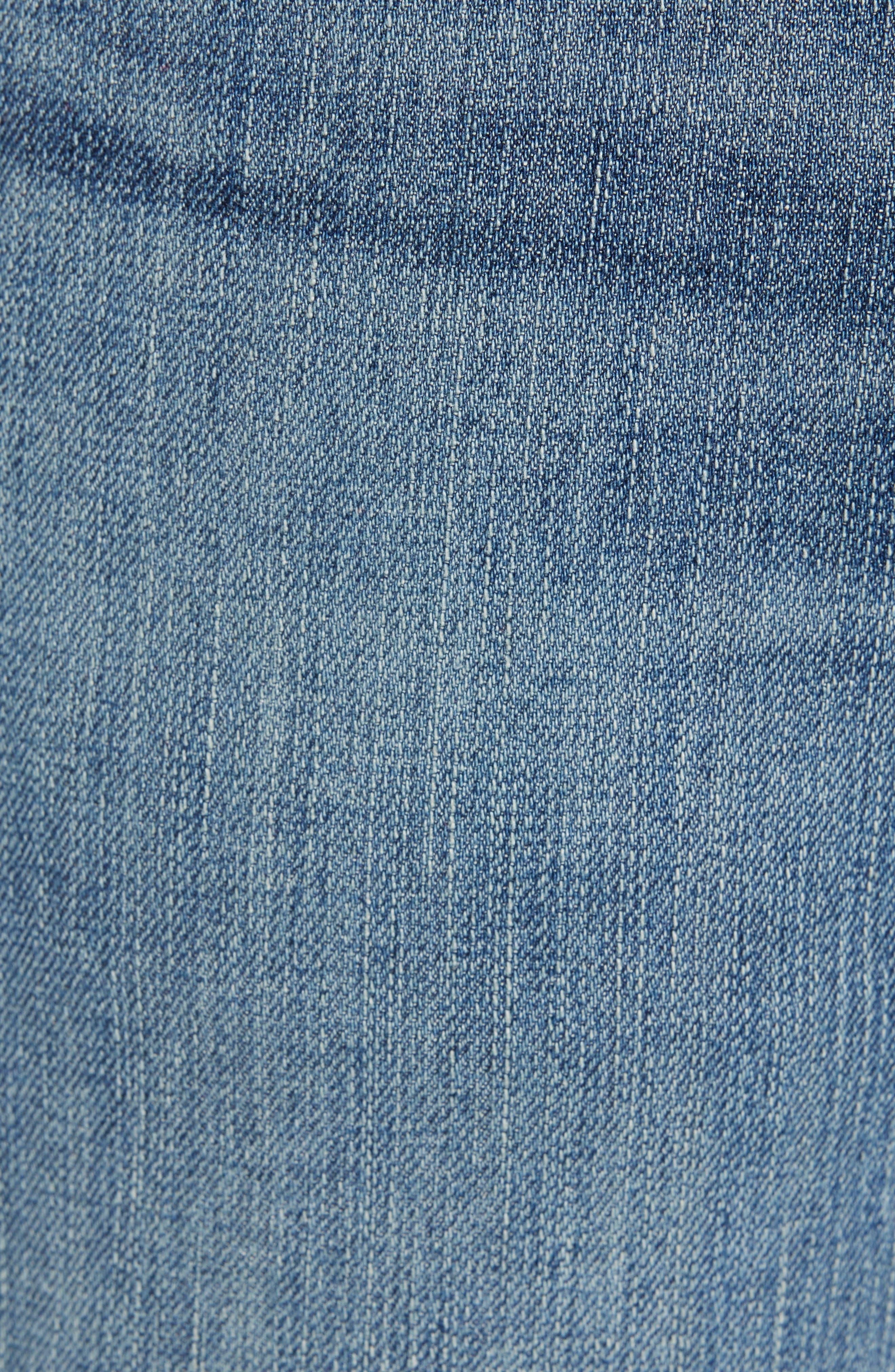 AG, Graduate Slim Straight Leg Jeans, Alternate thumbnail 6, color, APERTURE