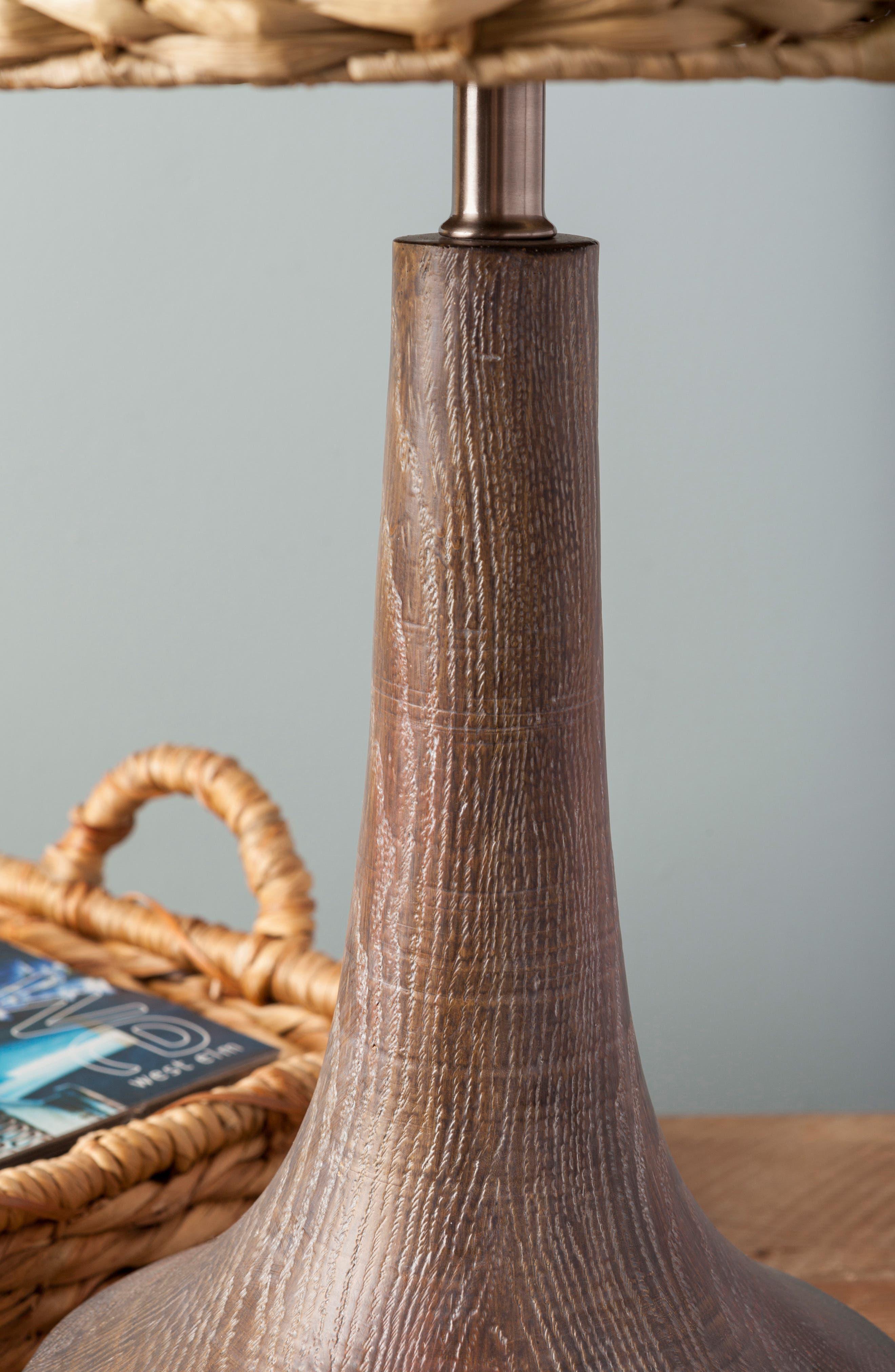 SURYA HOME, Carson Table Lamp, Alternate thumbnail 6, color, CAMEL